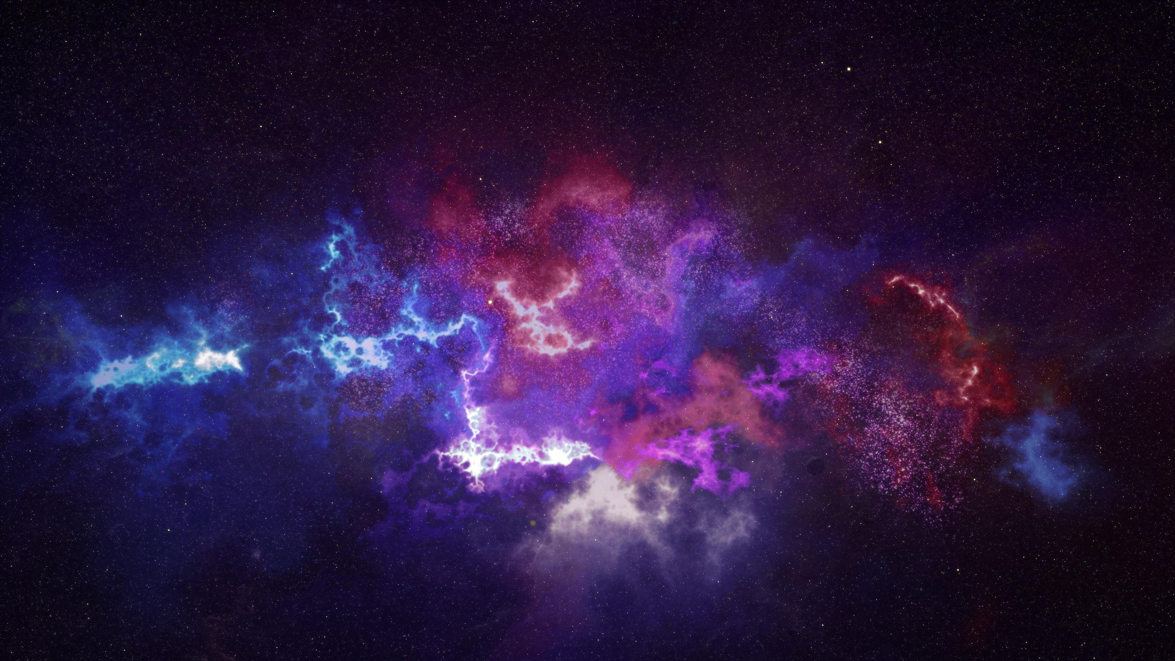 Res: 3840x2160, outer space, galaxy, constellation