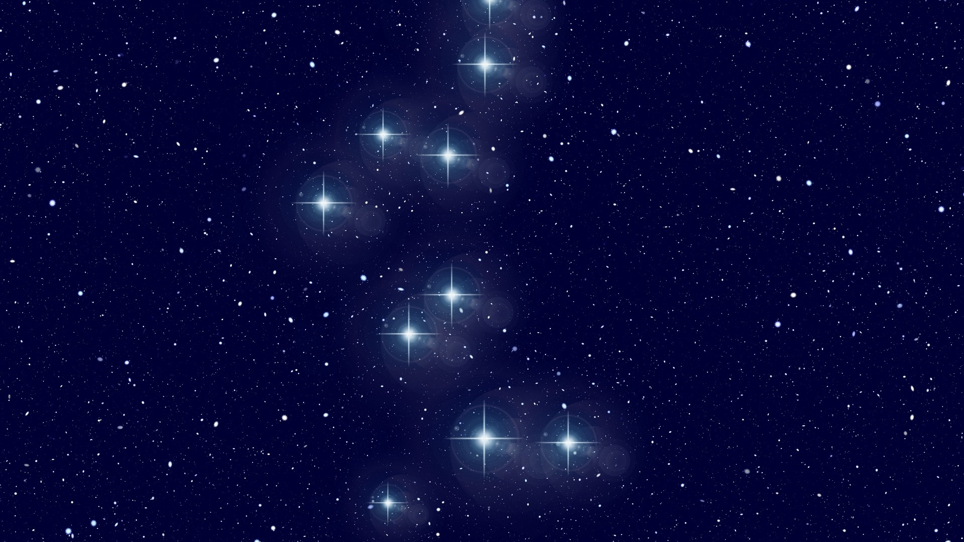 Res: 1920x1080,  Wallpaper constellation, bear, starry sky, galaxy, astronomy