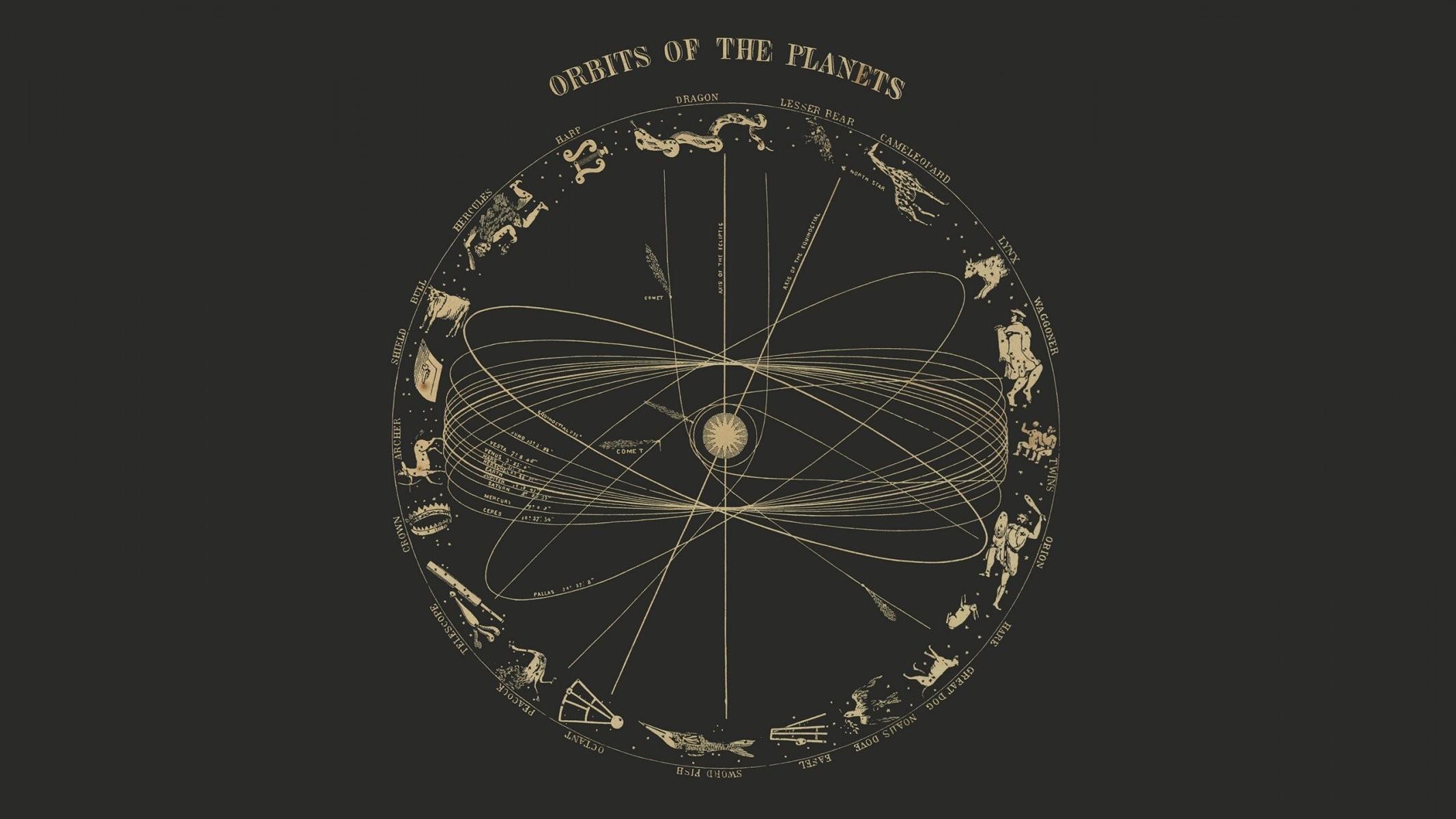 Res: 2133x1200, sun world orbit constellation