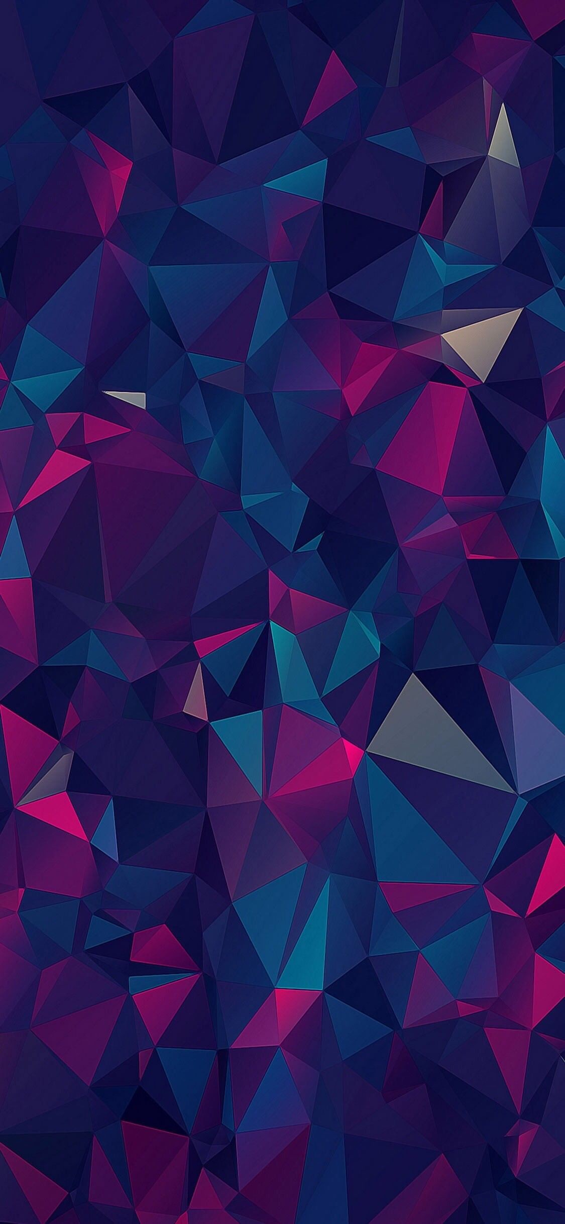 Res: 1125x2436, iOS 11, iPhone X, purple, blue, clean, simple, abstract,