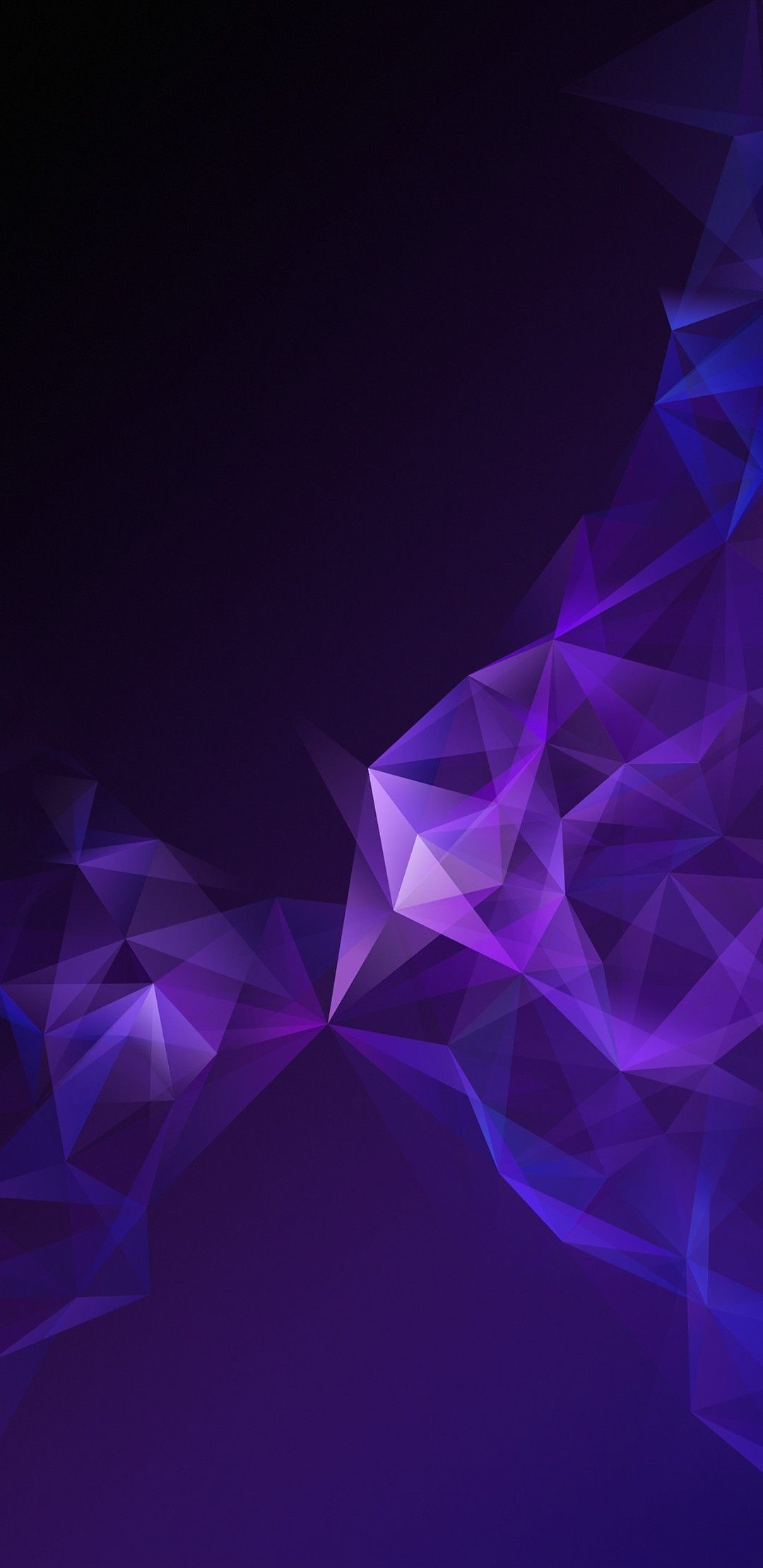 Res: 1080x2220, wallpapers for android and iphone, download dark geometric phone background