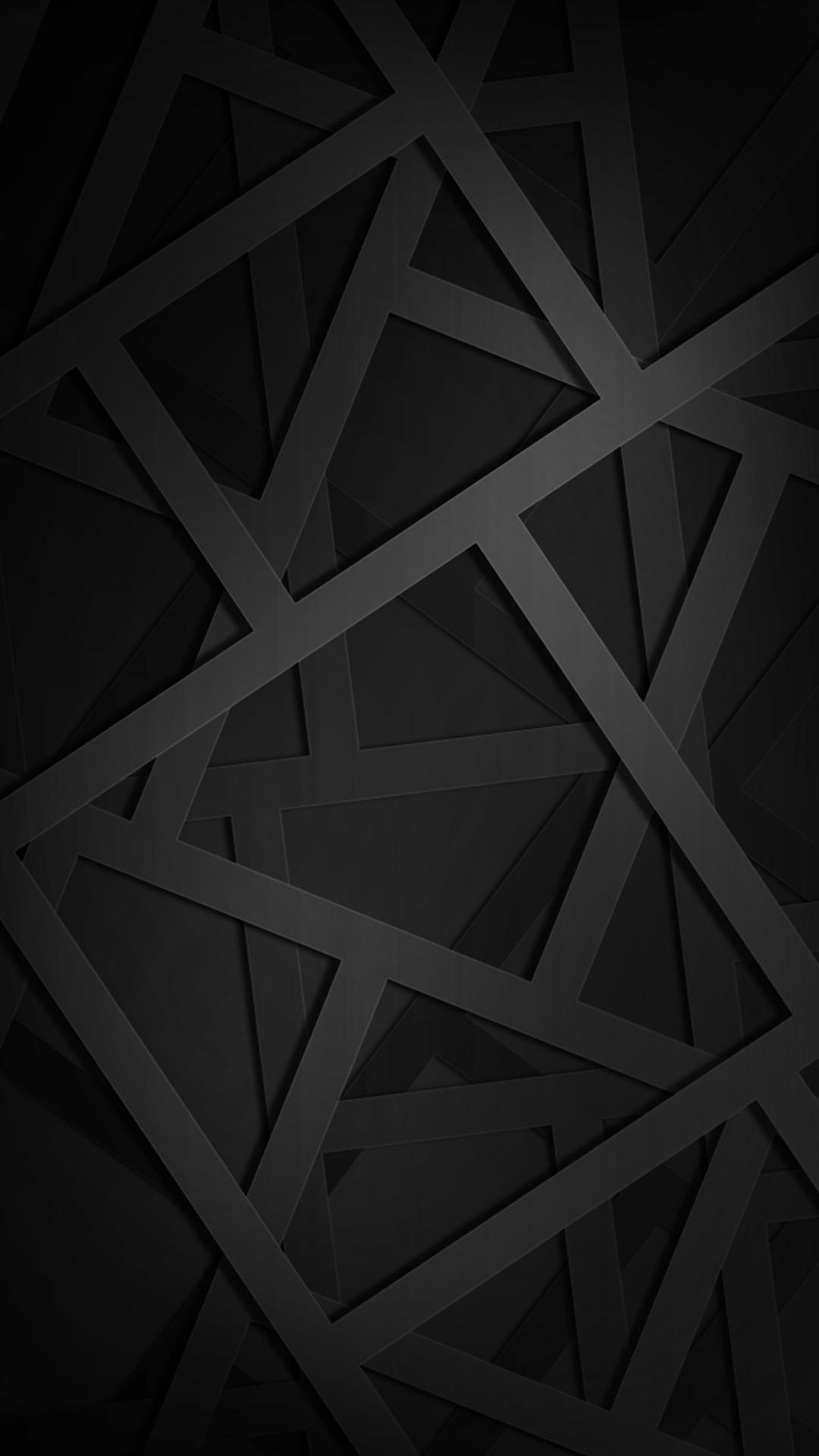 Res: 1080x1920, Geometric Black 1080 x 1920 FHD Wallpaper Geometric Black 1080 x 1920 FHD Wallpaper