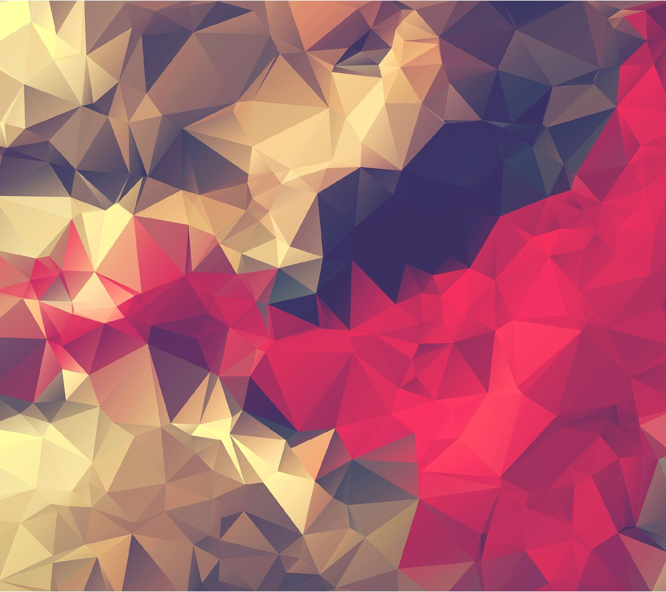 Res: 2160x1920, Red Smoke Abstract - Tap to see more of the best low polygon geometric wallpapers! - @mobile9