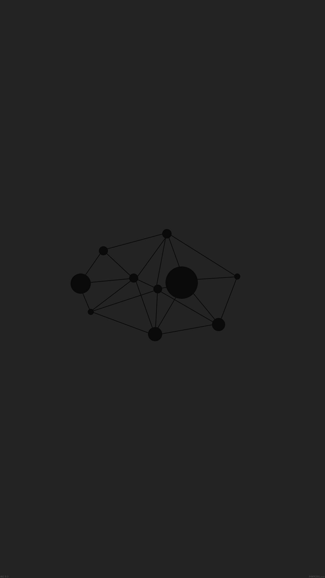 Res: 1242x2208, Polygons Minimal Geometric Art