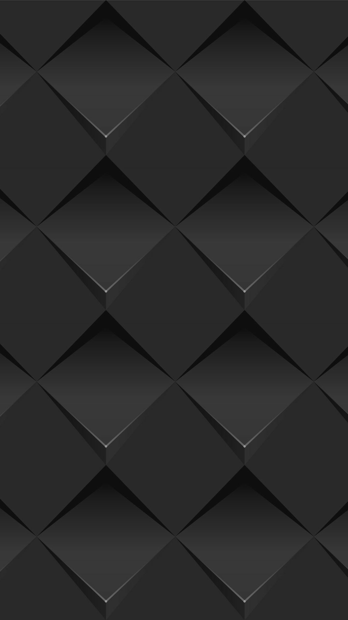 Res: 1216x2165, Black Geometric Wallpaper