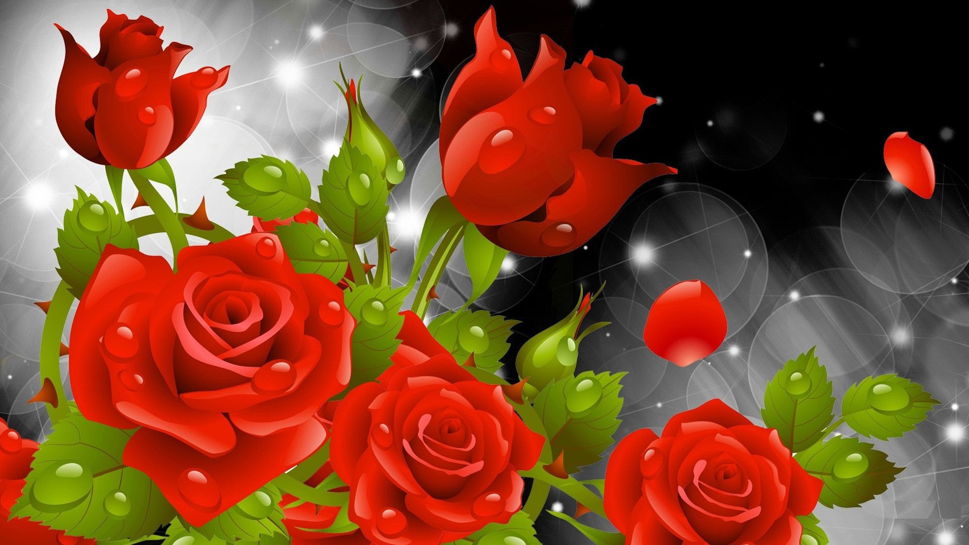 Res: 1920x1080, Red Rose Wallpapers Red Flowers HD Pictures One HD Wallpaper 1280×800 Red Rose Picture Wallpapers (40 Wallpapers) | Adorable Wallpapers
