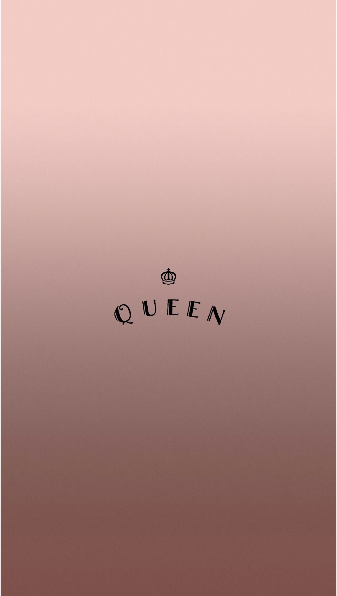 Res: 1157x2048, Rose Gold Queen iPhone Wallpaper by @EvaLand