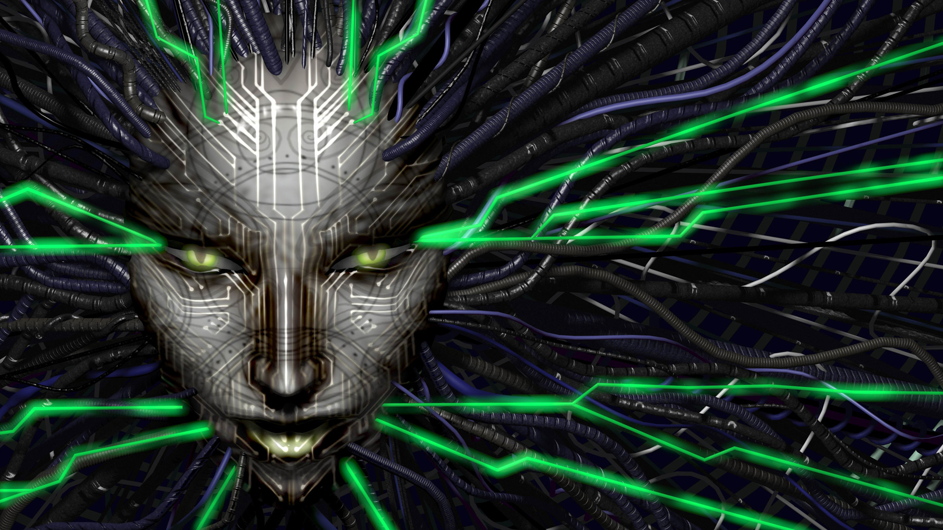 Res: 1920x1080, Technology - Artistic System Shock 2 Wallpaper