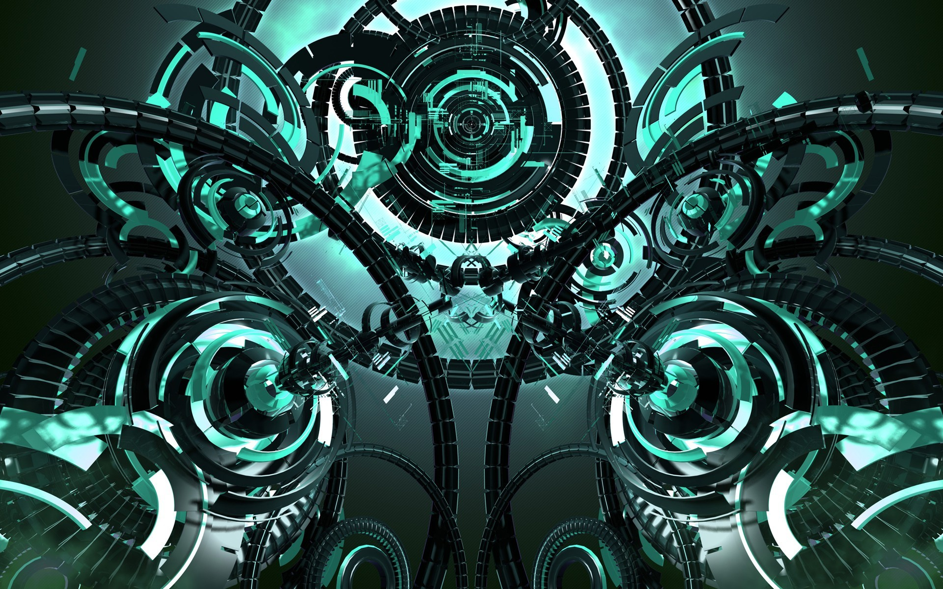 Res: 1920x1200, Futuristic Tech Wallpaper Desktop Ro1t Cyber Gate Company throughout Tech  Wallpapers 2015