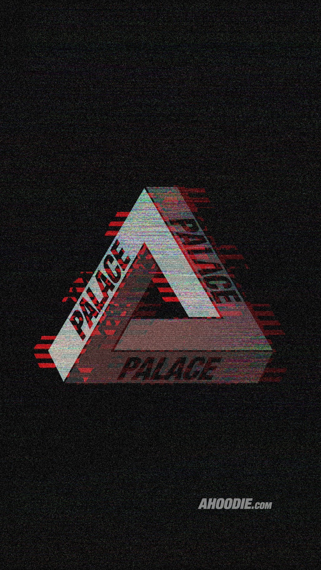 """Res: 1081x1920, Palace Skateboards """"VHS Glitch"""" Wallpapers ..."""