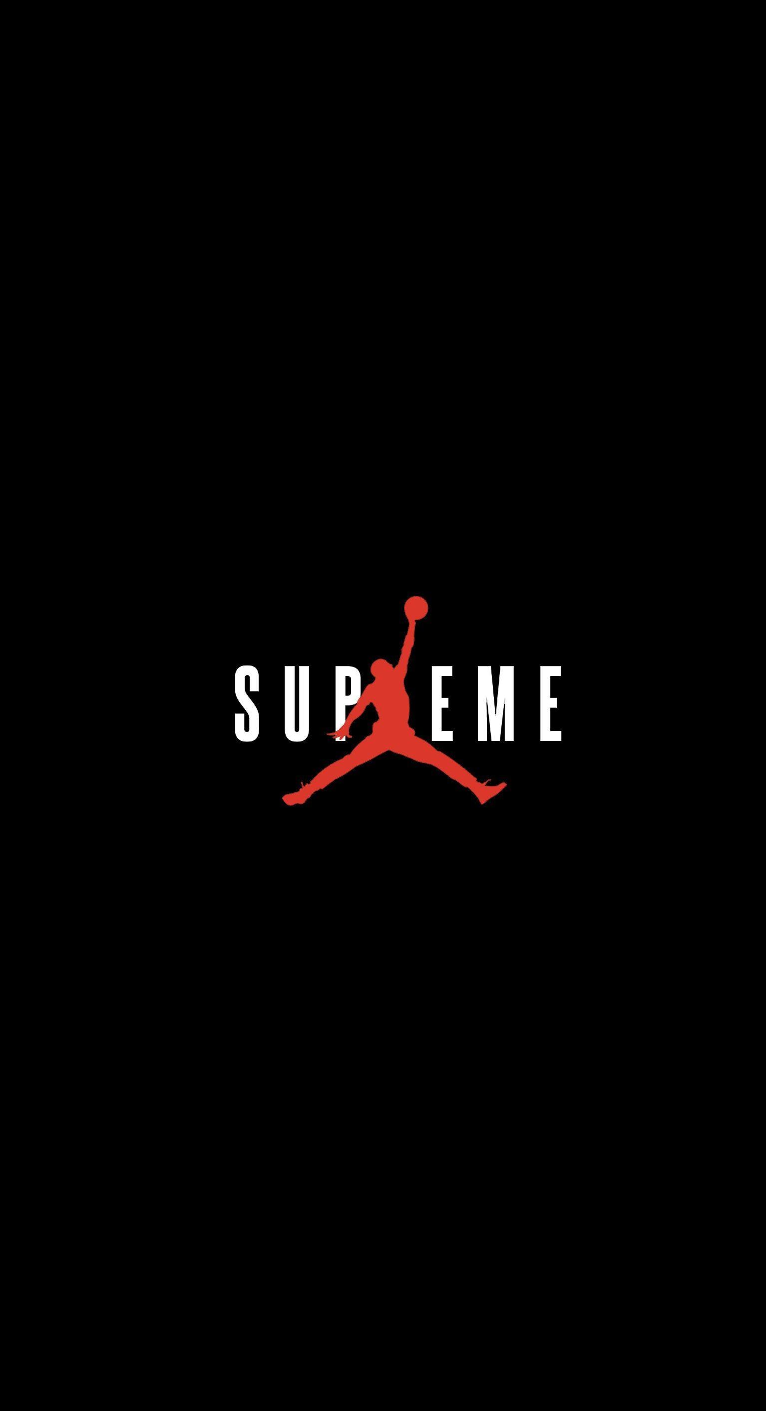 Res: 1534x2824, Supreme x Jordan Wallpaper : streetwear - Streetwear Wallpapers - Wallpaper  Zone