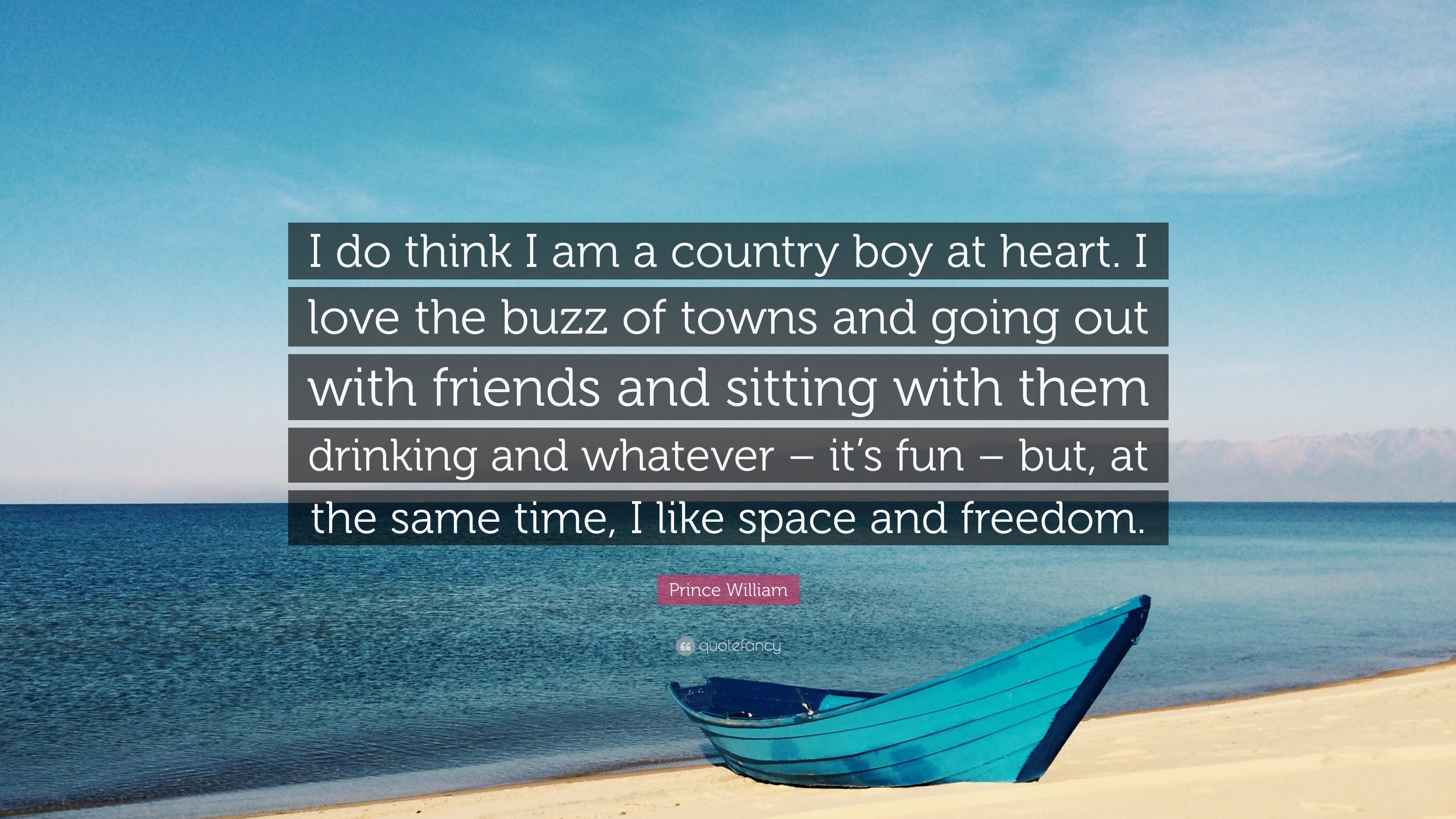 "Res: 3840x2160, Prince William Quote: ""I do think I am a country boy at heart."