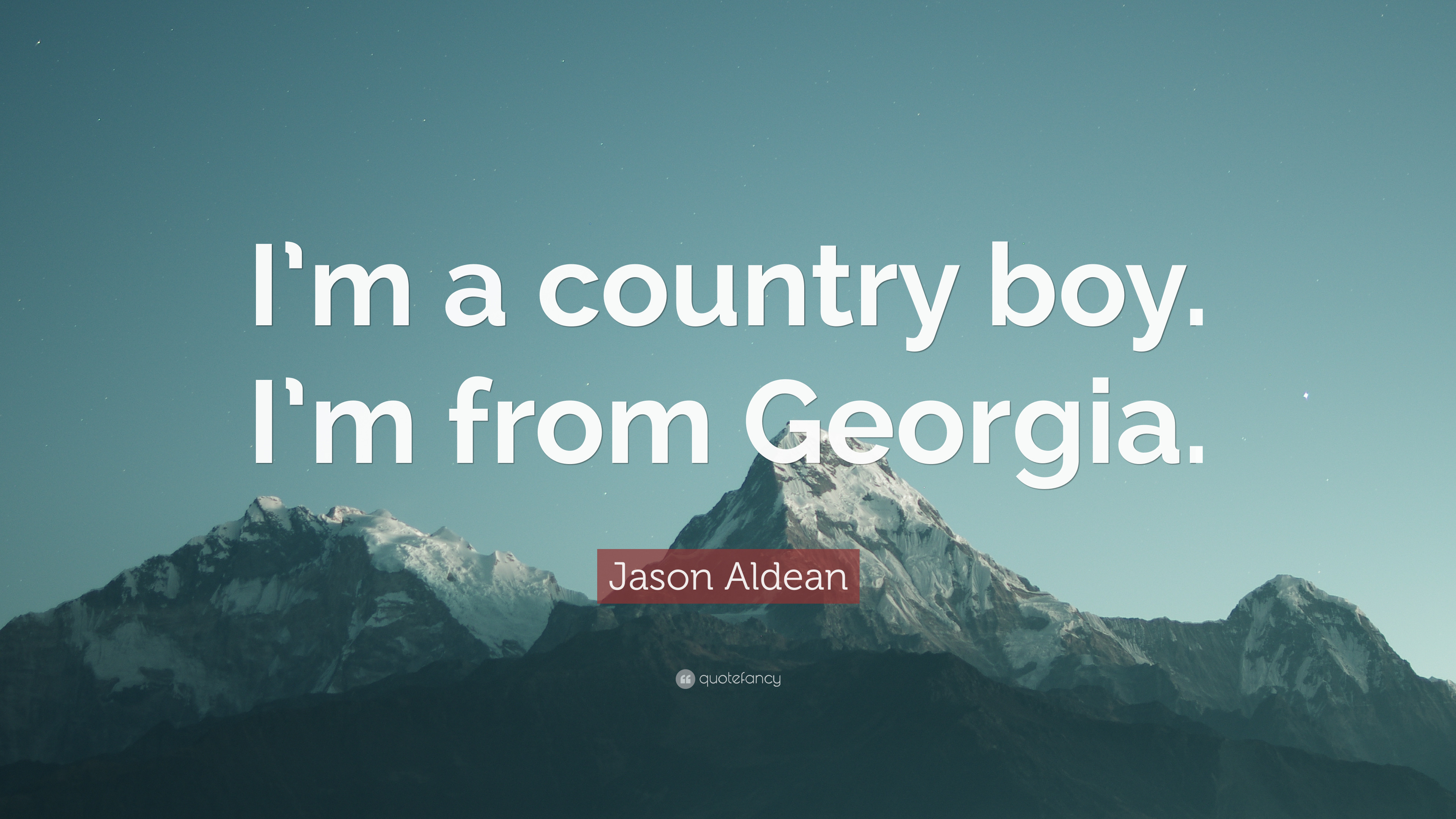 "Res: 3840x2160, Jason Aldean Quote: ""I'm a country boy. I'm from"