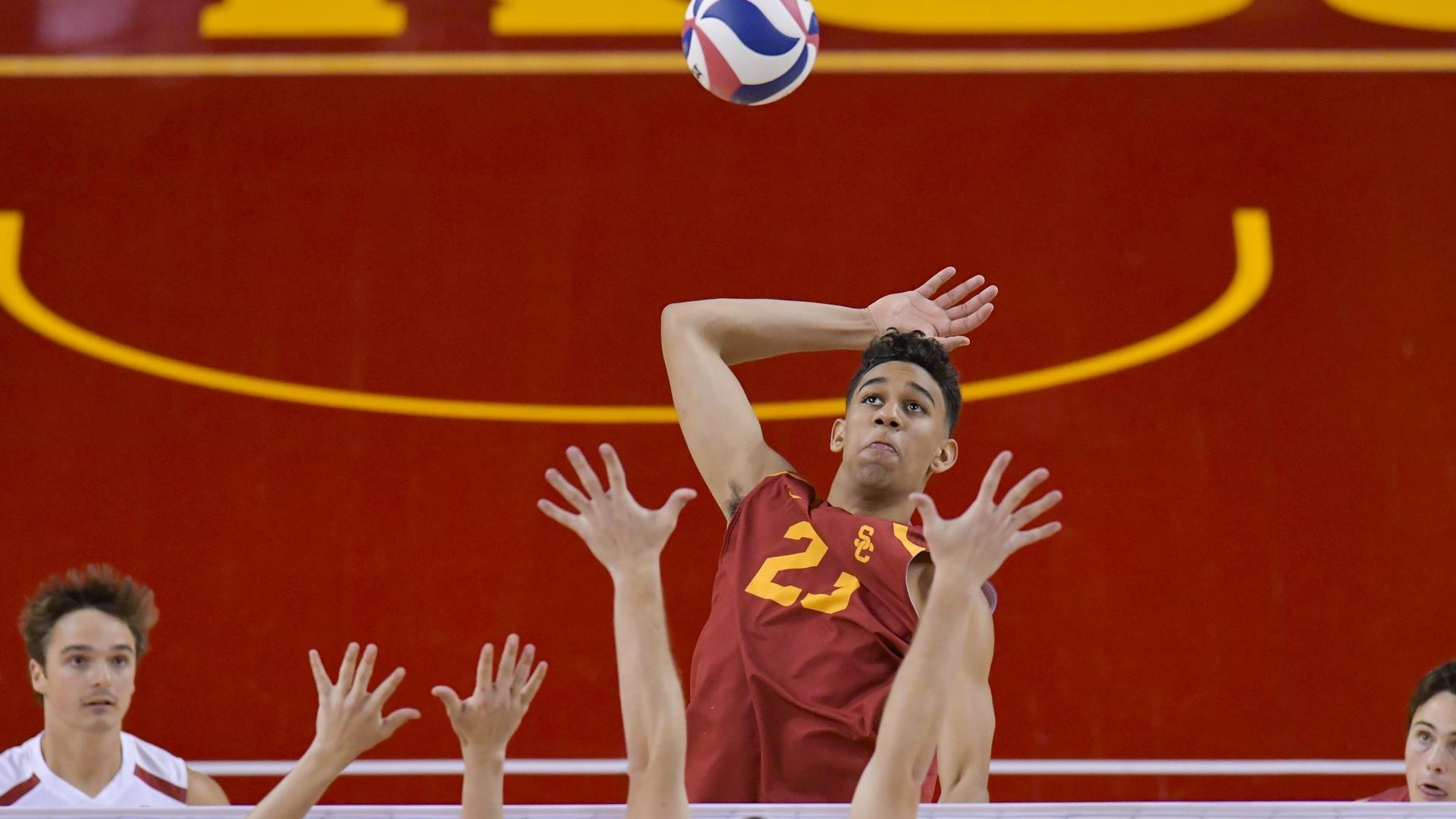Res: 1920x1080, Stanford Cardinal vs USC Trojans Men's Volleyball - February 8, 2018 -  Pac-12 | Pac-12