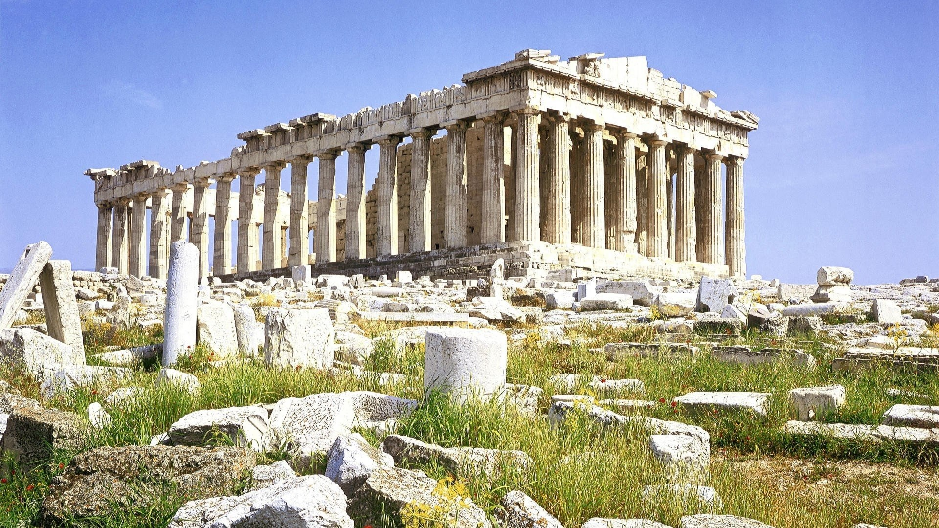 Res: 1920x1080, Greek, Architecture, Building, Greece, Ancient, Parthenon Wallpapers HD /  Desktop and Mobile Backgrounds