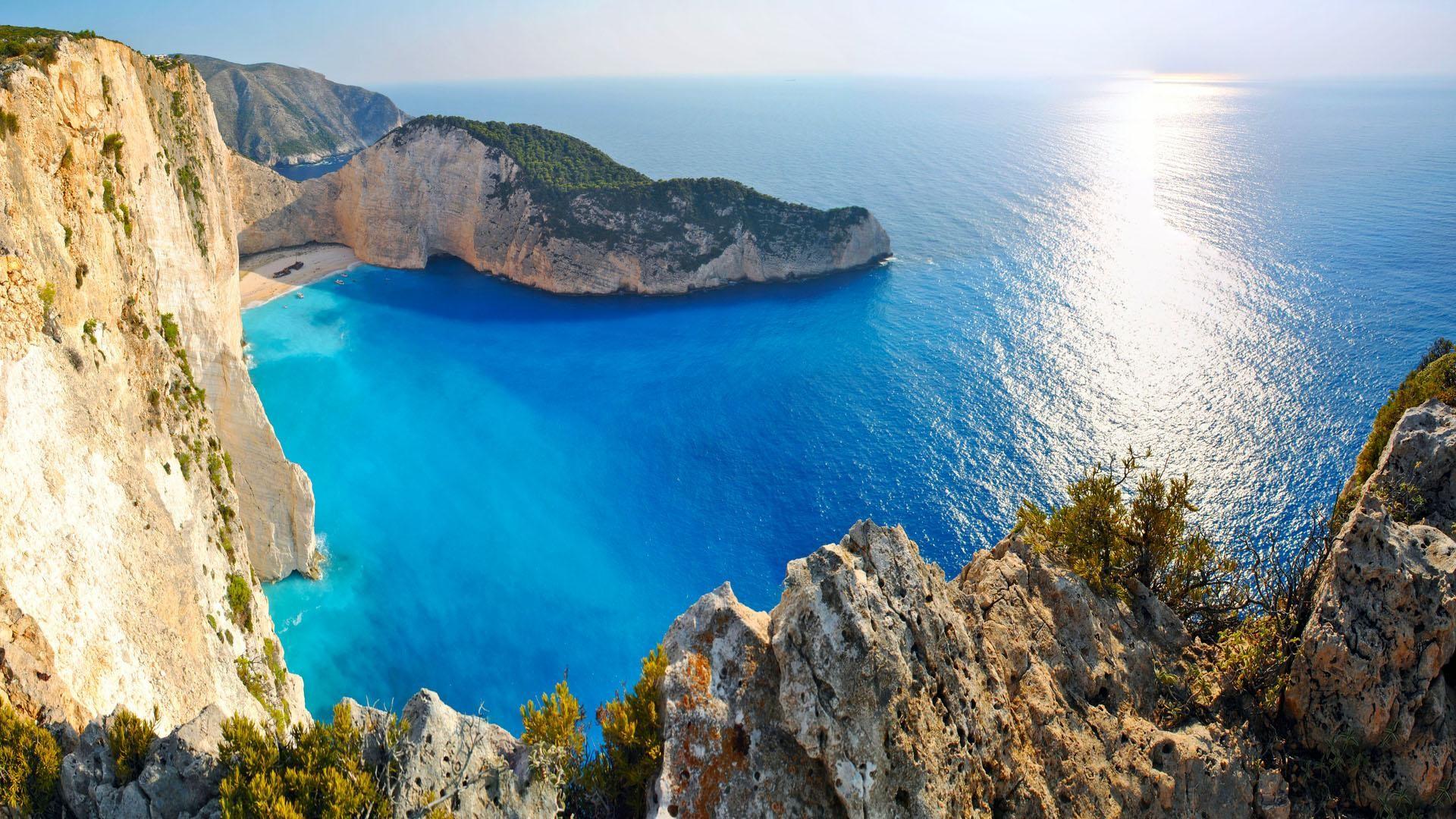 Res: 1920x1080, Greece Beaches Wallpaper
