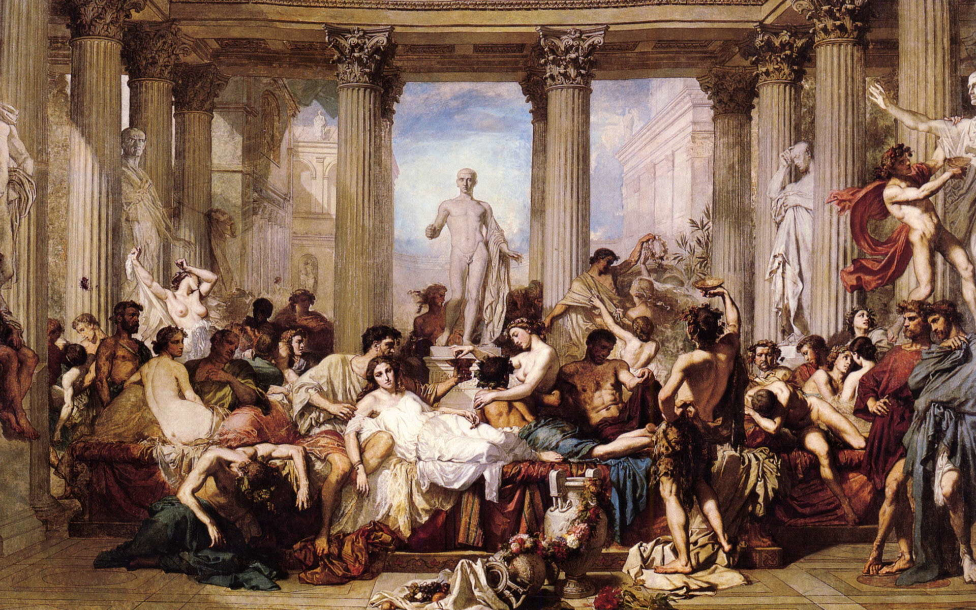 Res: 1920x1200, Ancient Greek Painting Wallpaper