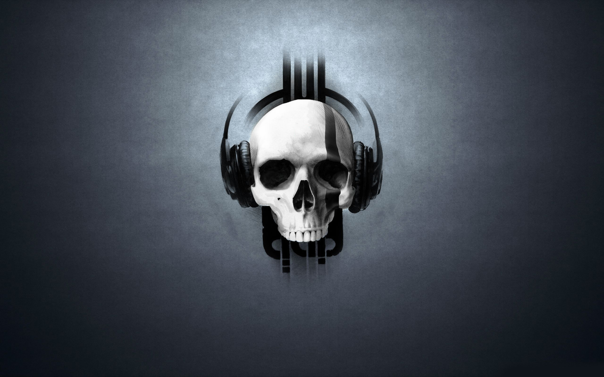 Res: 2560x1600, Music and Skull Wallpaper for iPhone Wallpaper