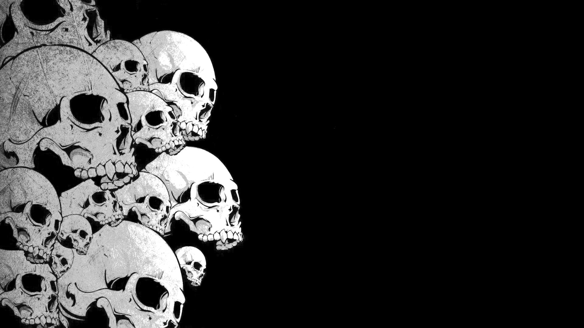 Res: 1920x1080, Magnificent Wallpapers Collection: Skull Desktop Wallpapers