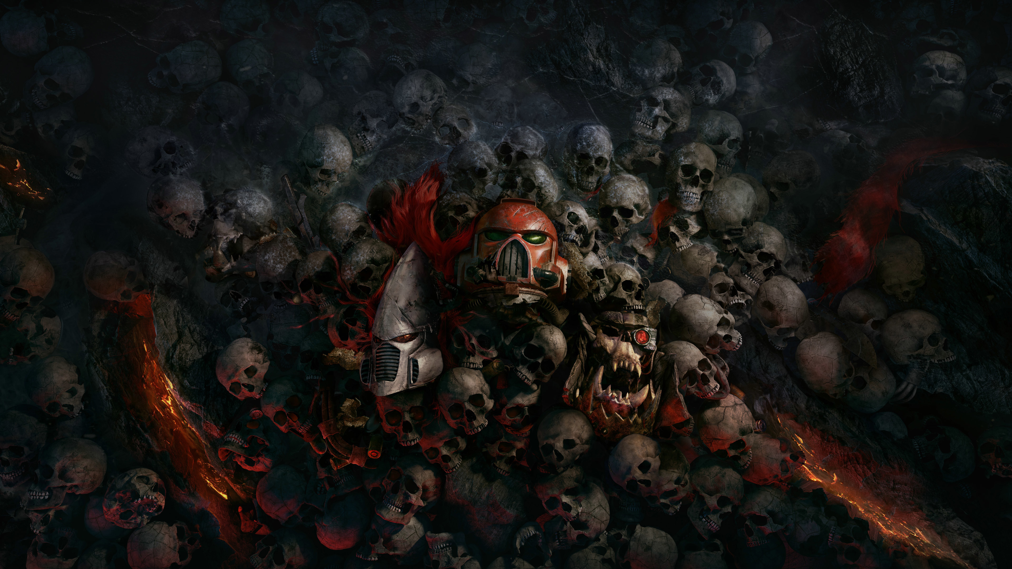 Res: 3840x2160, Skulls 4k