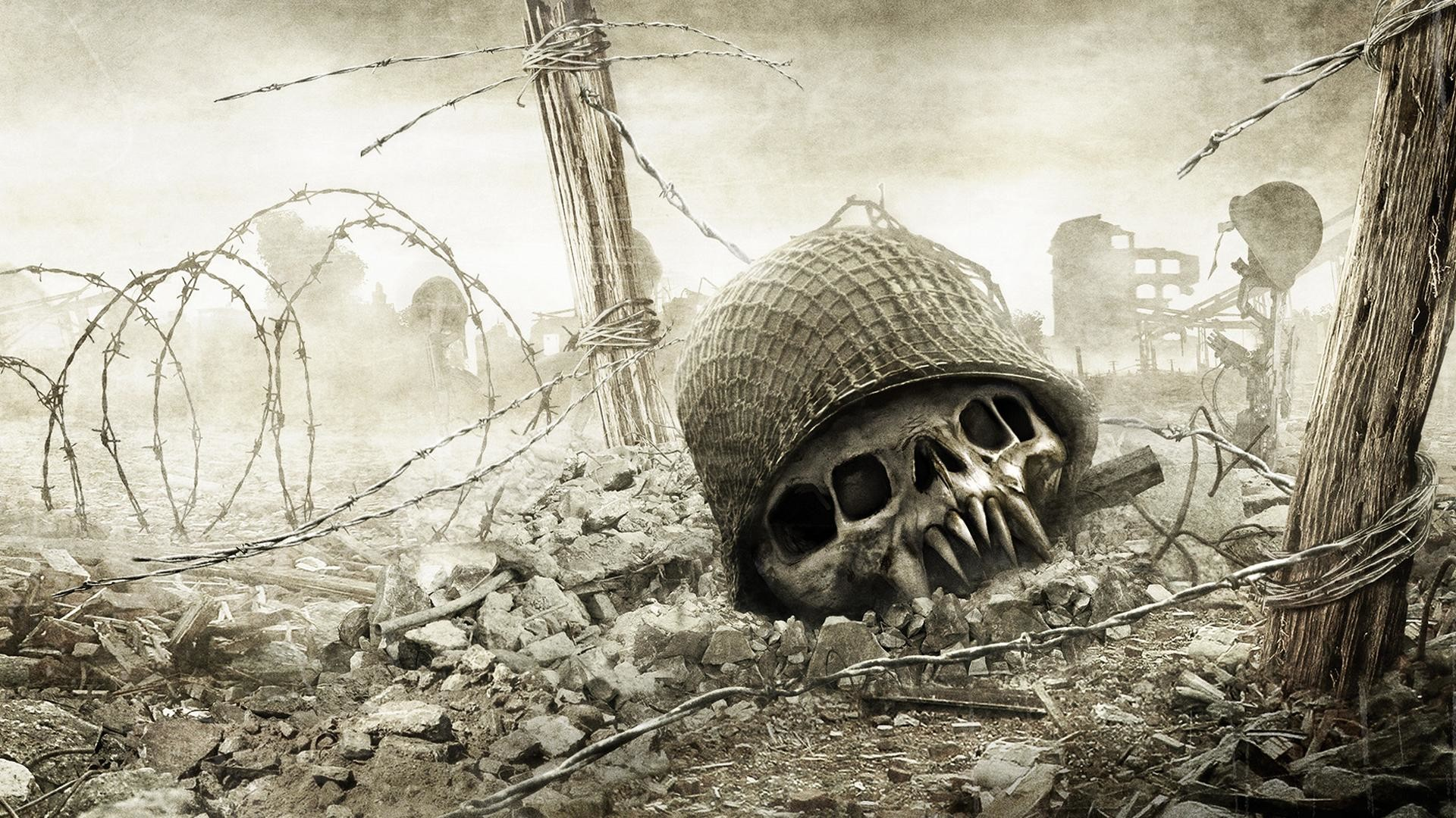 Res: 1920x1080, 9. cool-skull-wallpapers-HD9-600x338