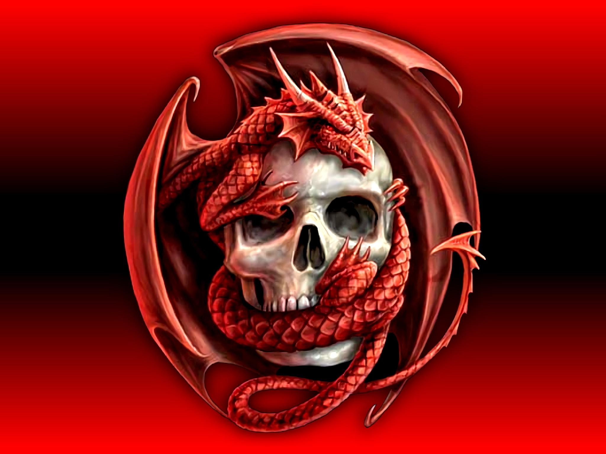 Res: 2048x1536, HD Wallpaper | Background Image ID:27403.  Dark Skull
