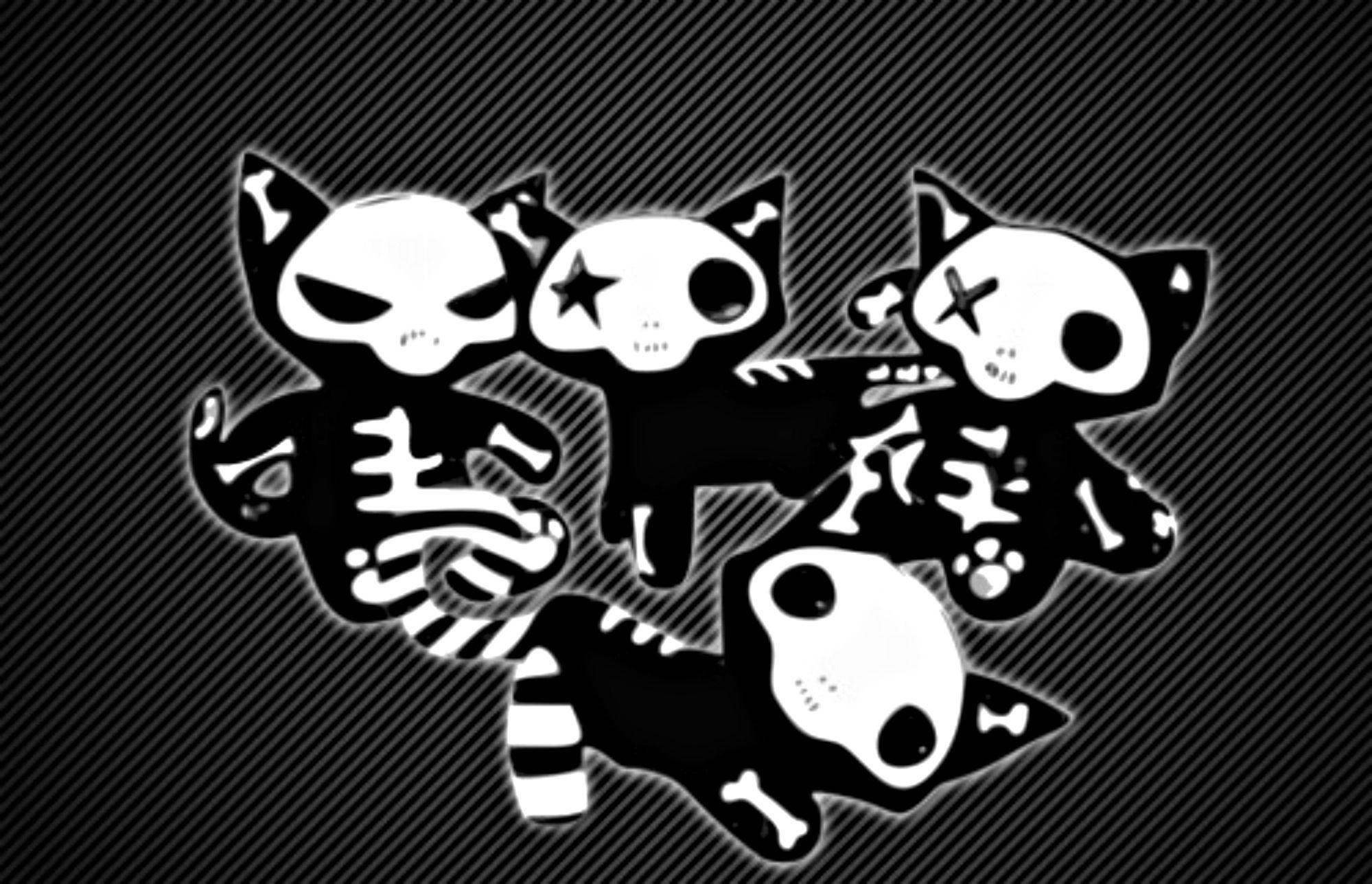 Res: 1999x1287, Girly Skull Desktop Wallpaper