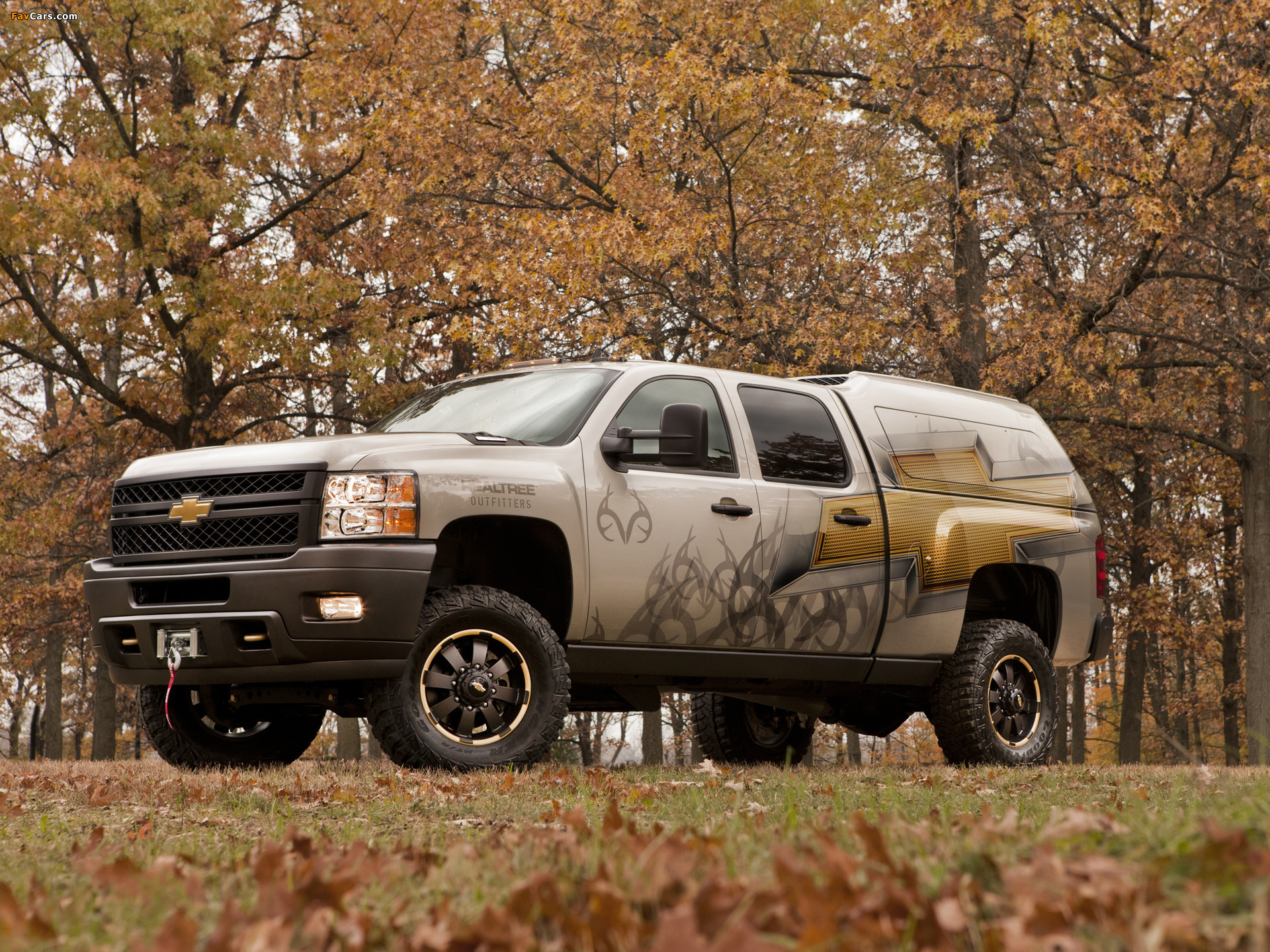 Res: 1920x1440, Chevrolet Silverado 2500 HD Realtree Concept 2011 wallpapers (1920 x 1440)