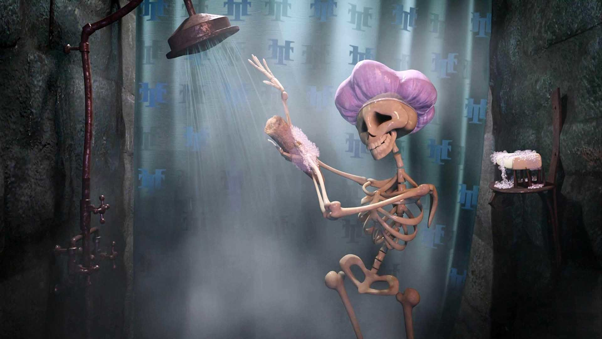 Res: 1920x1080, funny-skeletion-creepy-halloween-wallpaper-full-hd