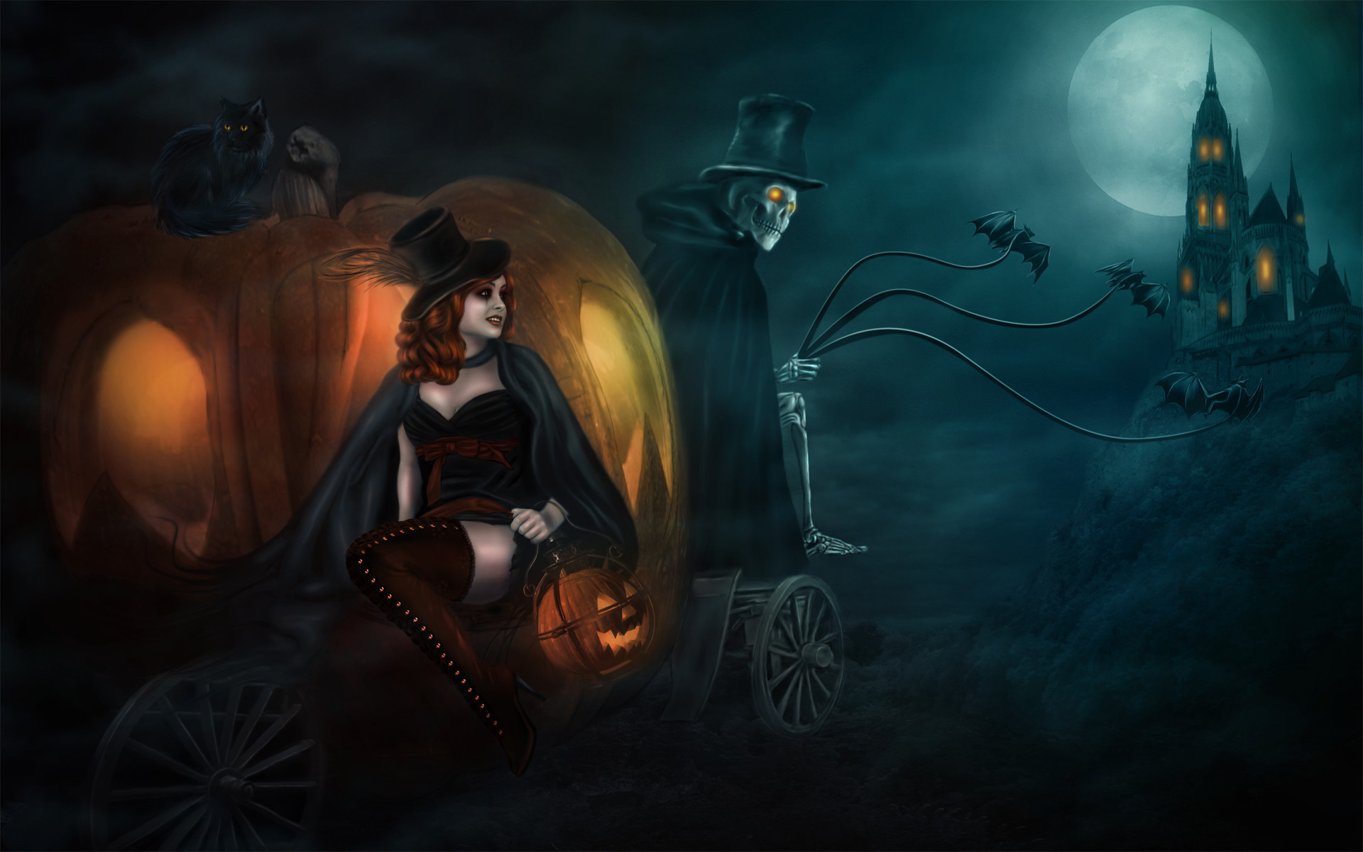 Res: 1920x1200, cool halloween backgrounds
