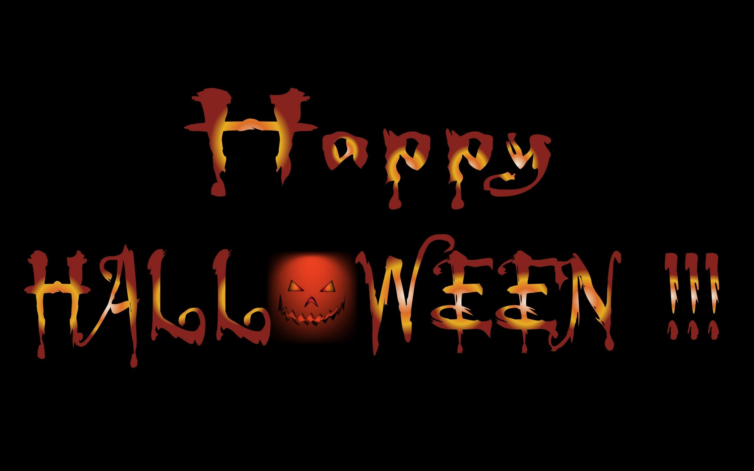 Res: 2560x1600, Wallpapers For > Scary Happy Halloween Wallpapers