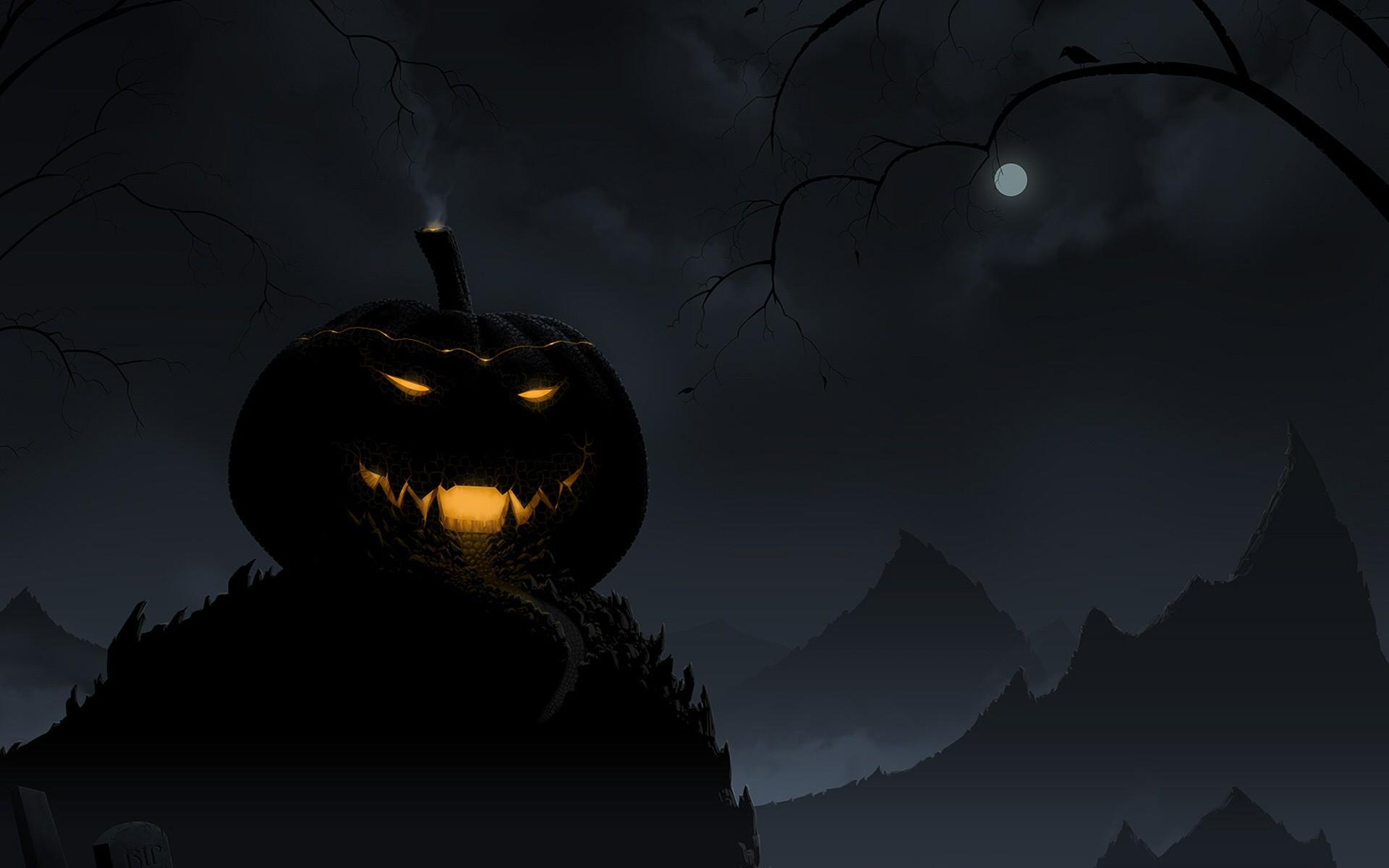 Res: 1920x1200, Holiday - Halloween Horror Creepy Spooky Scary Pumpkin Wallpaper