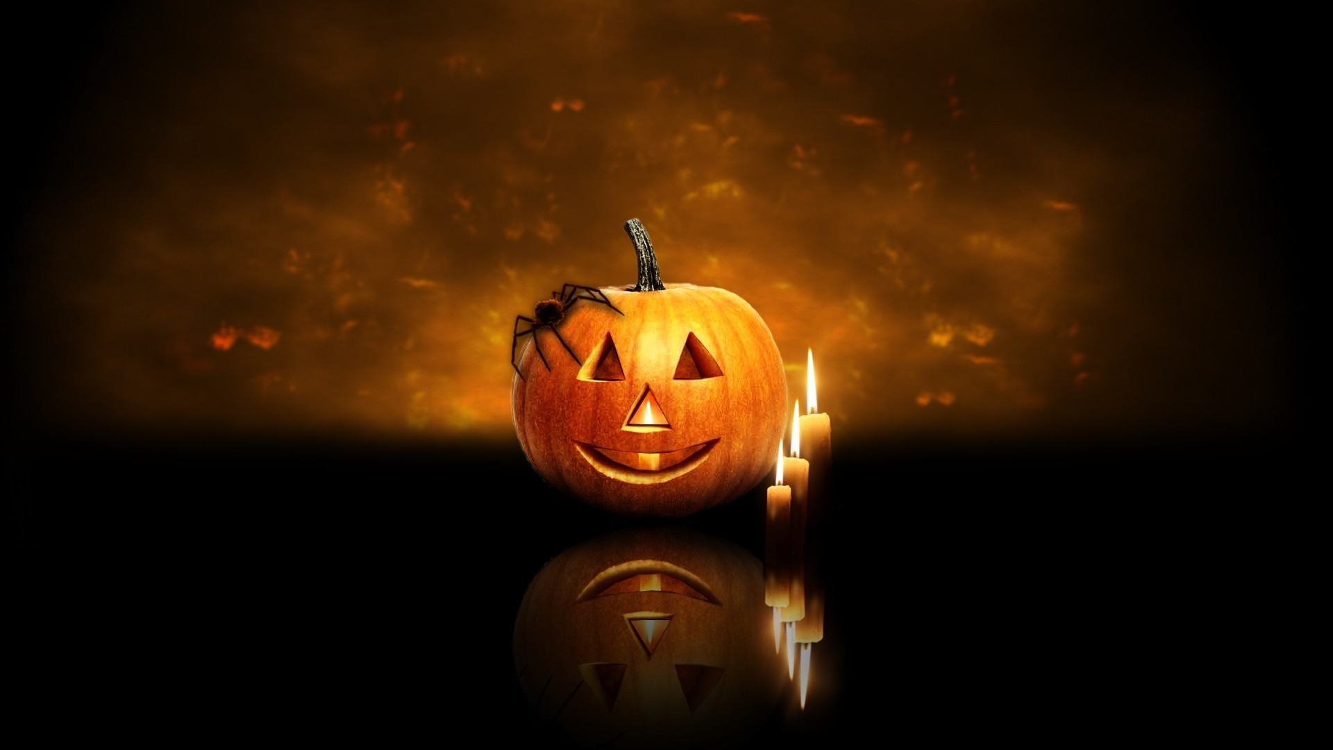Res: 1920x1080, Animated Halloween Wallpapers with Music - WallpaperSafari