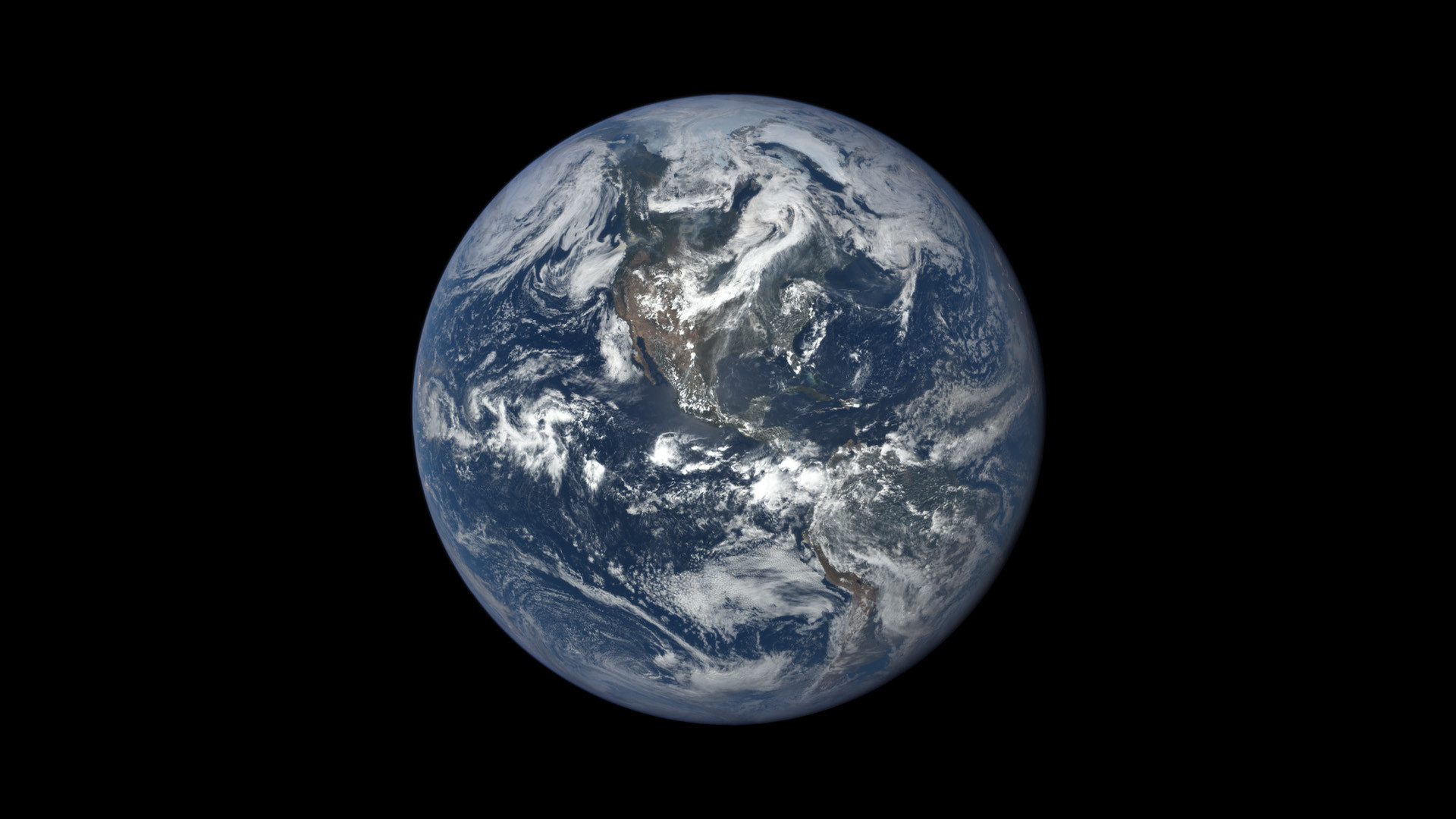 Res: 1920x1080, Earth from NASA's Earth Polychromatic Imaging Camera (EPIC), aboard NOAA's  Deep Space Climate