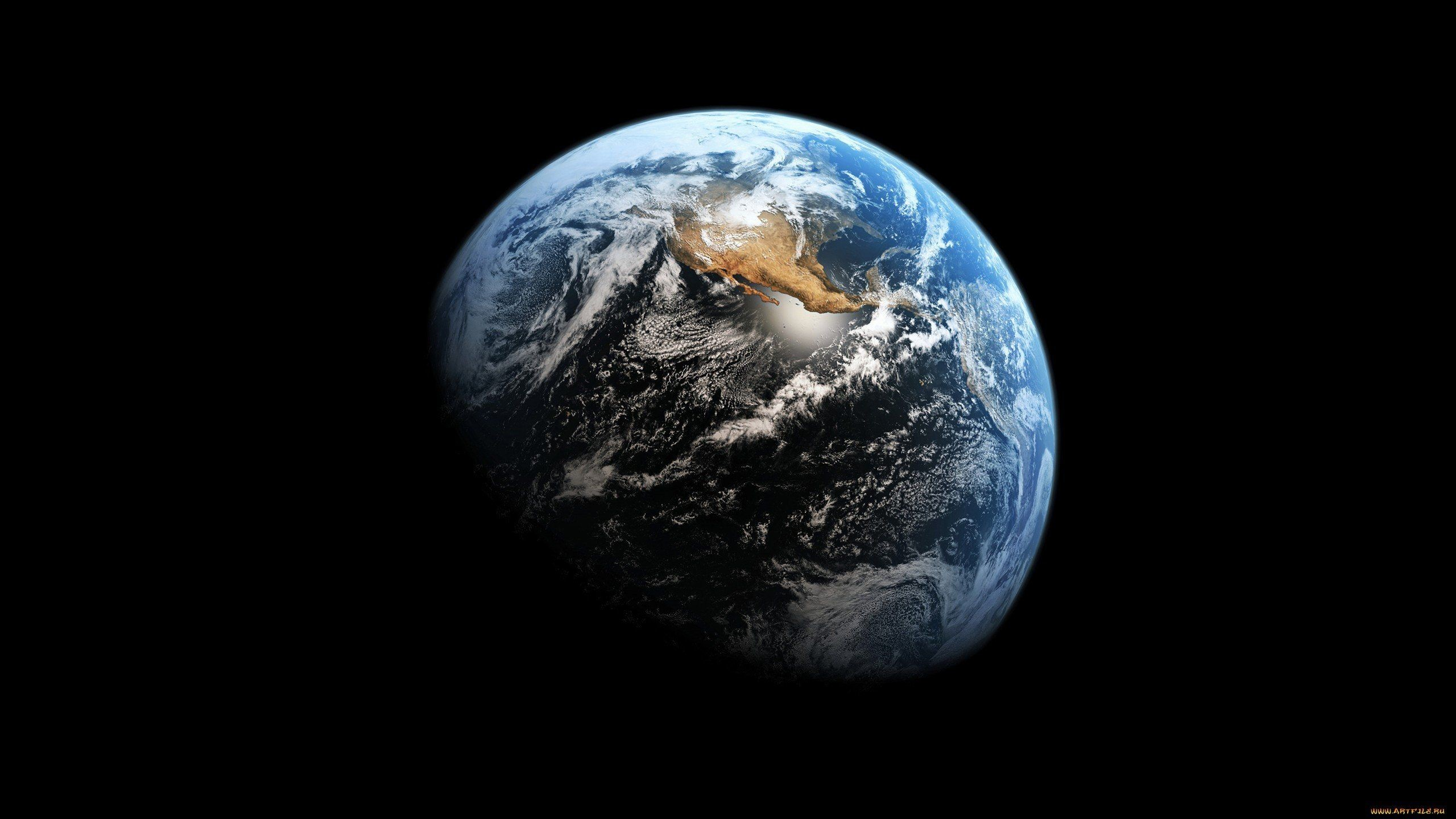 Res: 2560x1440, Earth From Space NASA wallpaper.