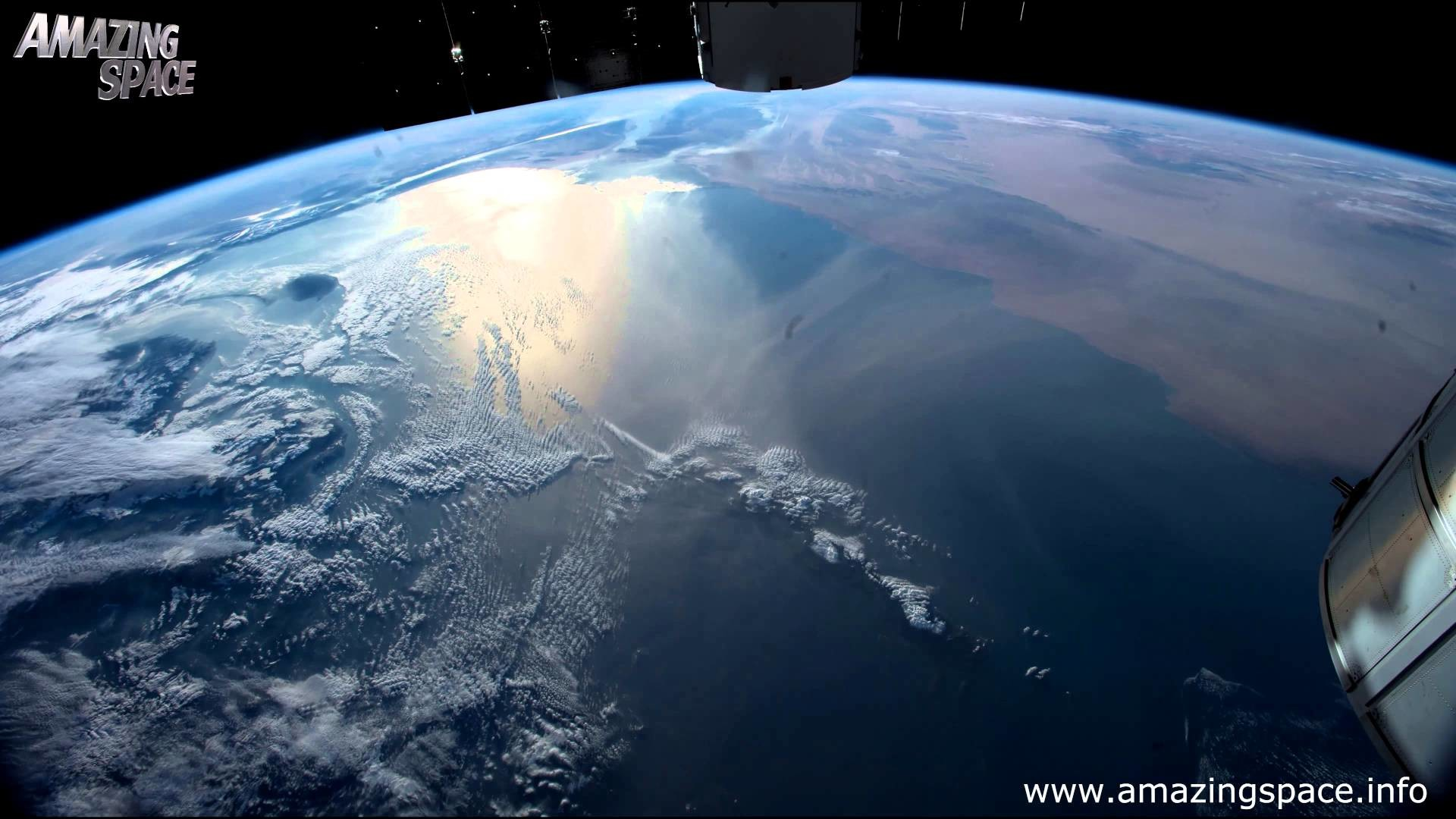 Res: 1920x1080, View From Space Time Lapse 4K Ultra HD Video - Earth From ISS : NASA -  YouTube