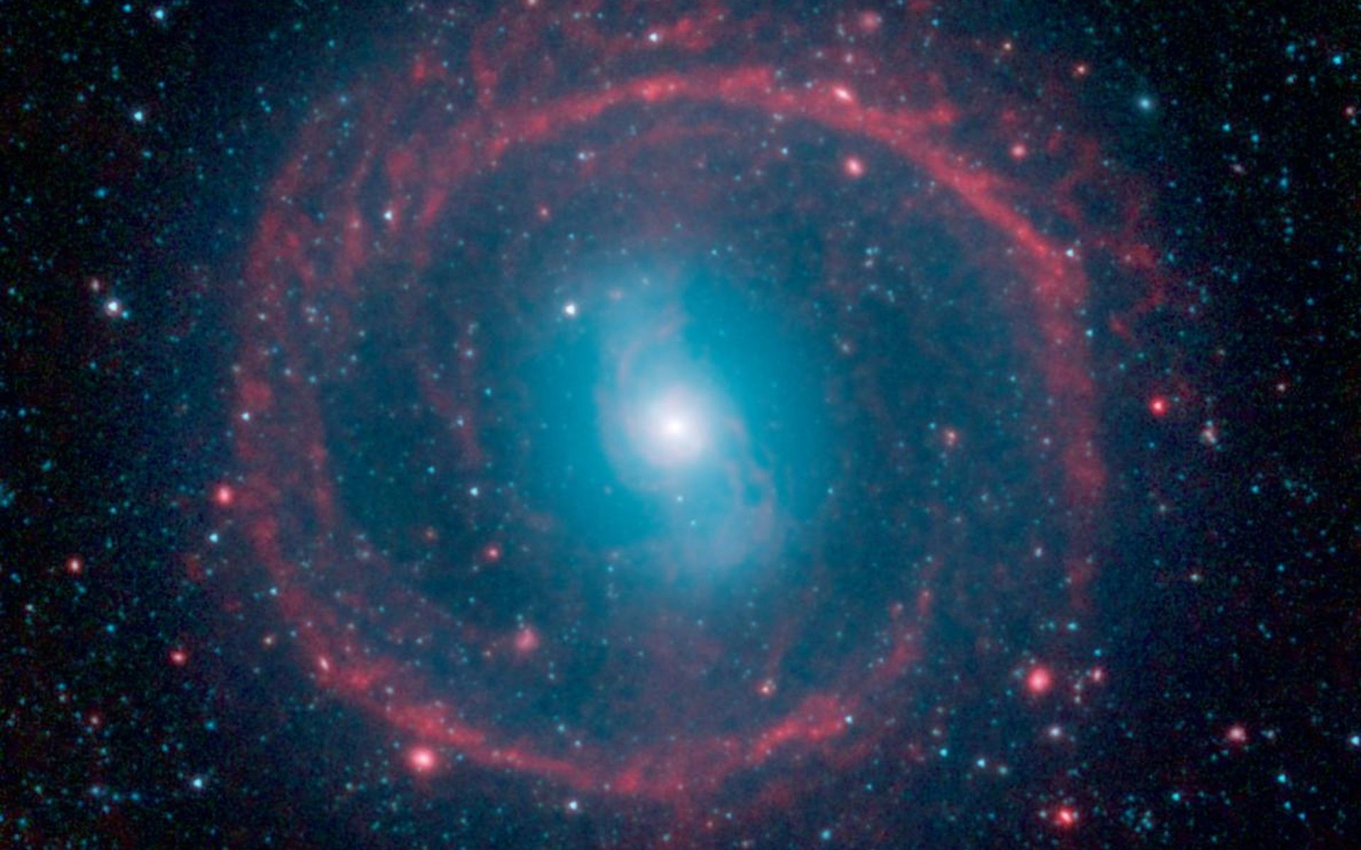 Res: 1920x1200, This image from NASA's Spitzer Space Telescope shows where the action is  taking place in galaxy