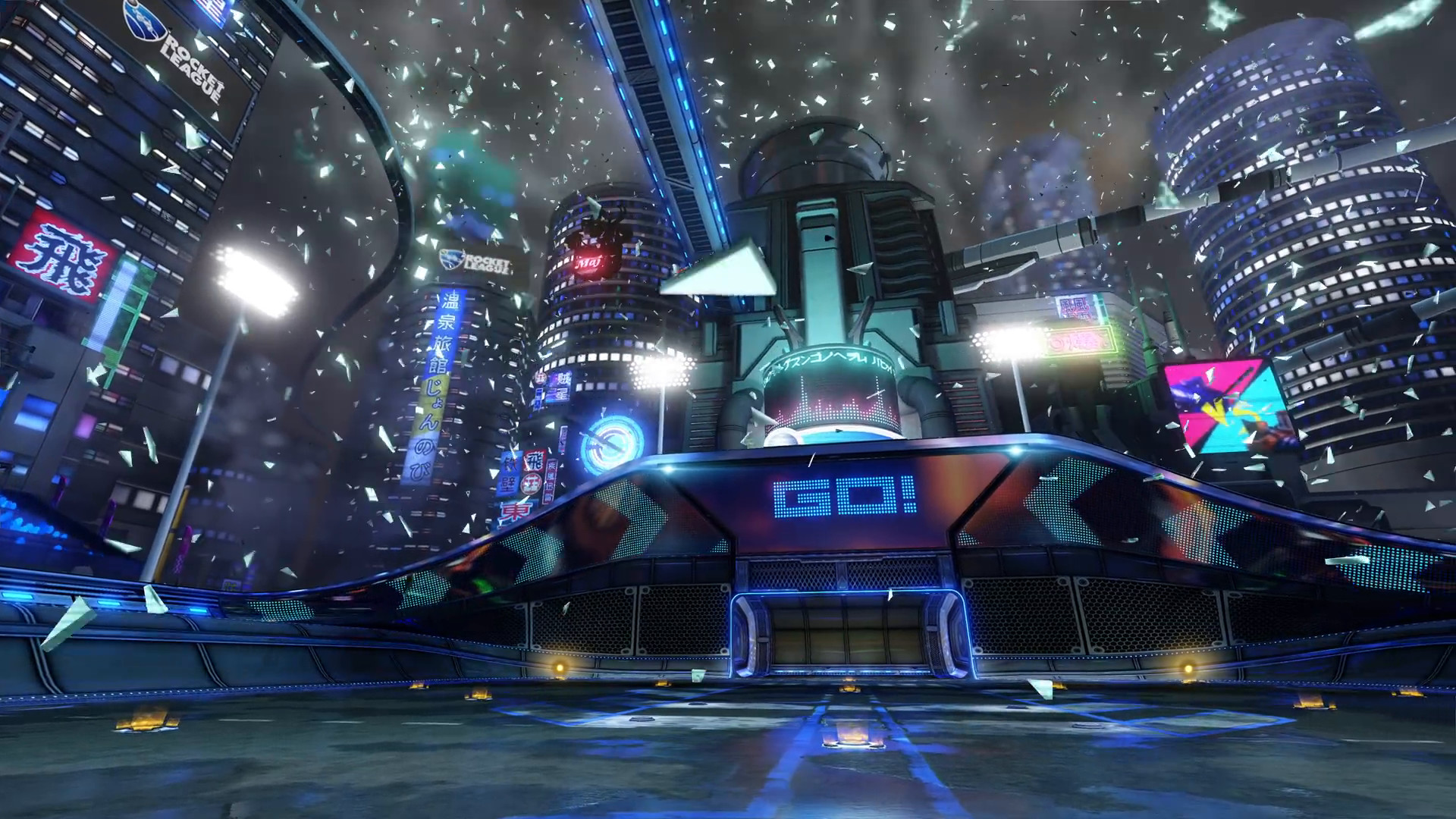 Res: 1920x1080, close share Rocket League's Neo Tokyo update is out now
