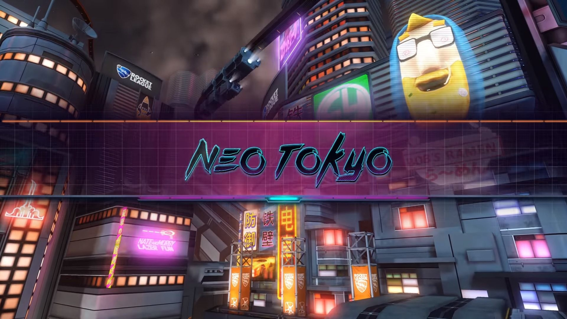 Res: 1920x1080, Rocket League – Neo Tokyo Arena Coming June 20th