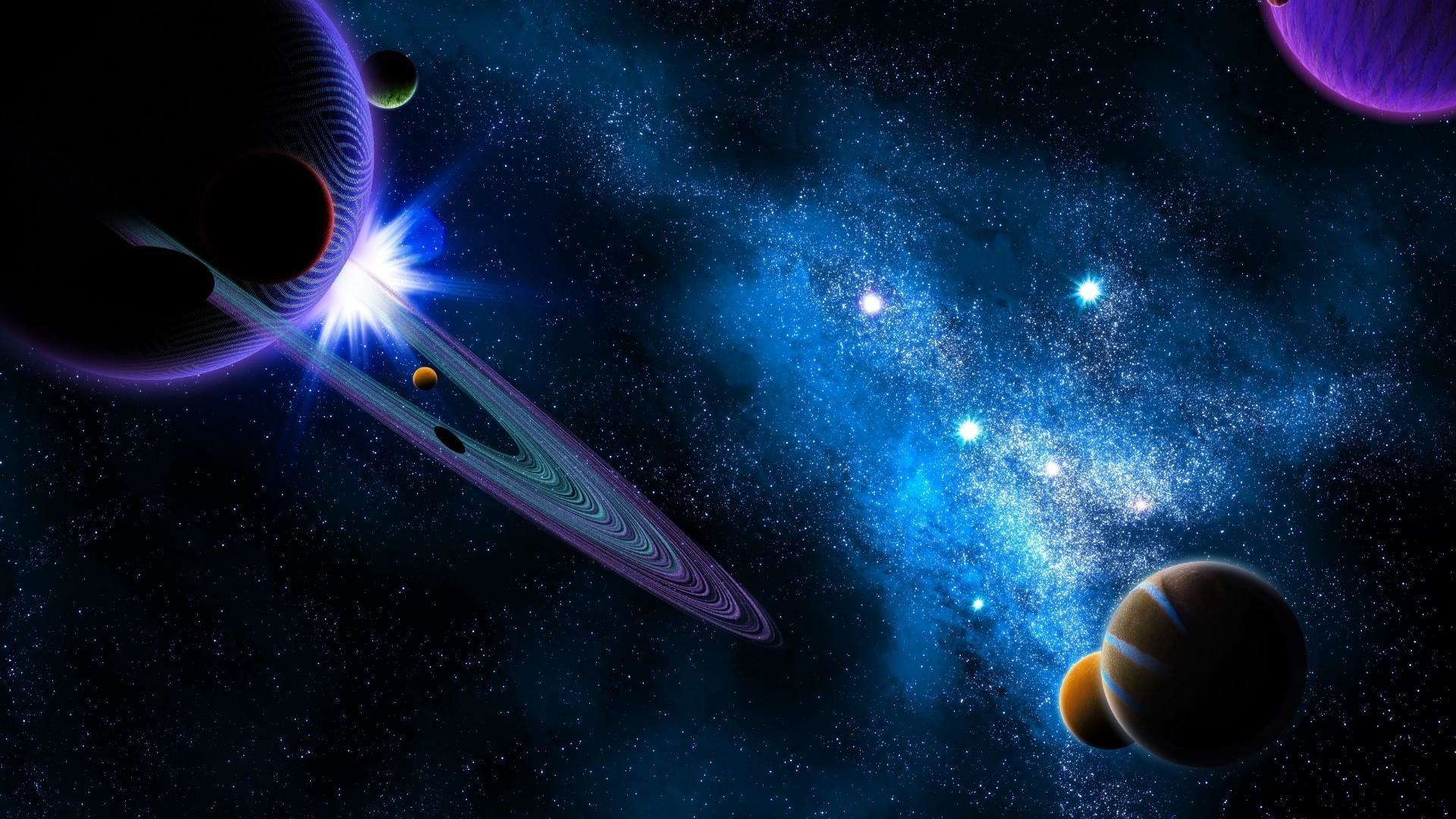 Res: 1920x1080, Planets In The Universe Wallpaper | Wallpaper Studio 10 | Tens of thousands  HD and UltraHD wallpapers for Android, Windows and Xbox