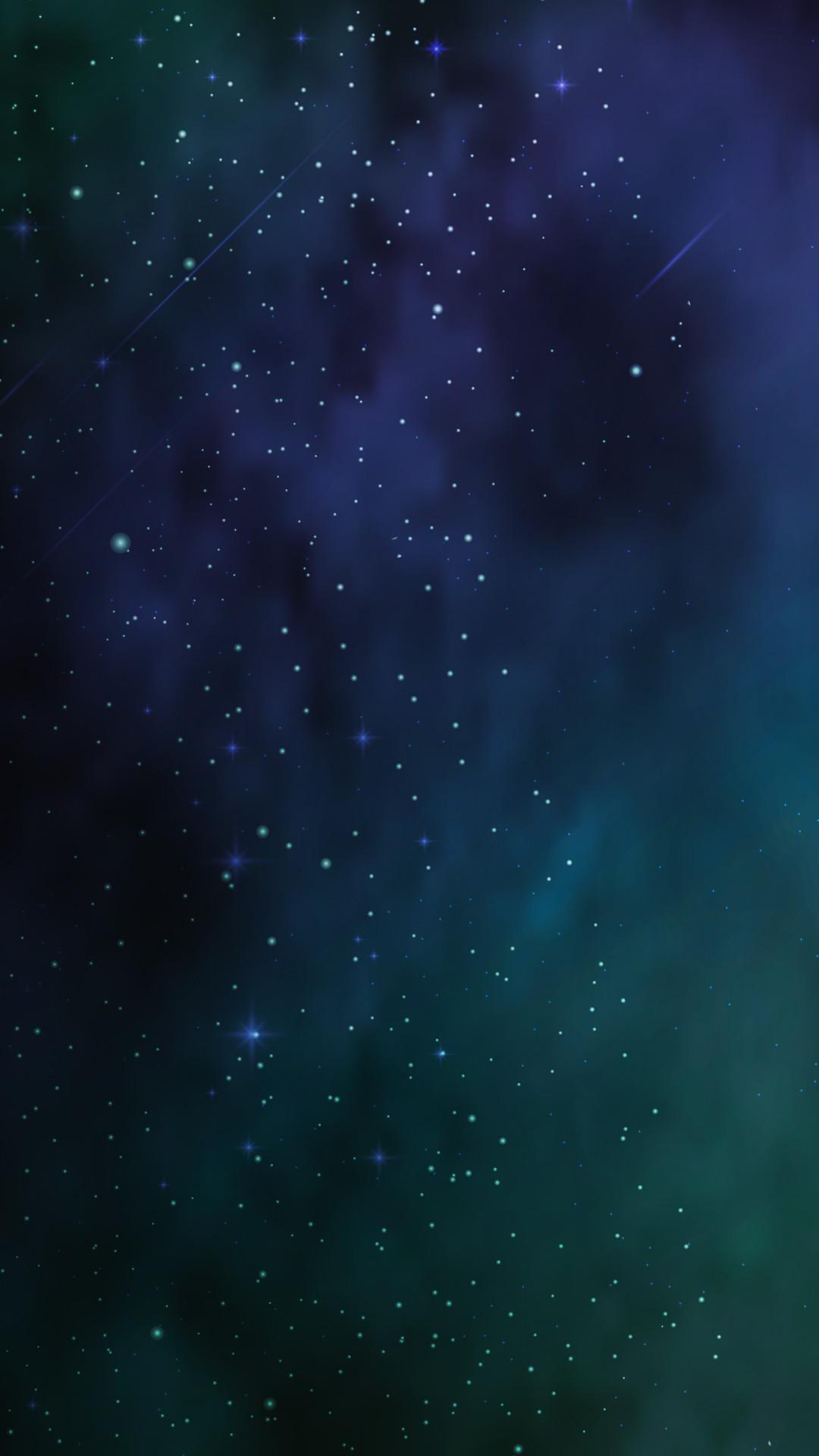 Res: 1080x1920, Blue Universe Phone Wallpaper