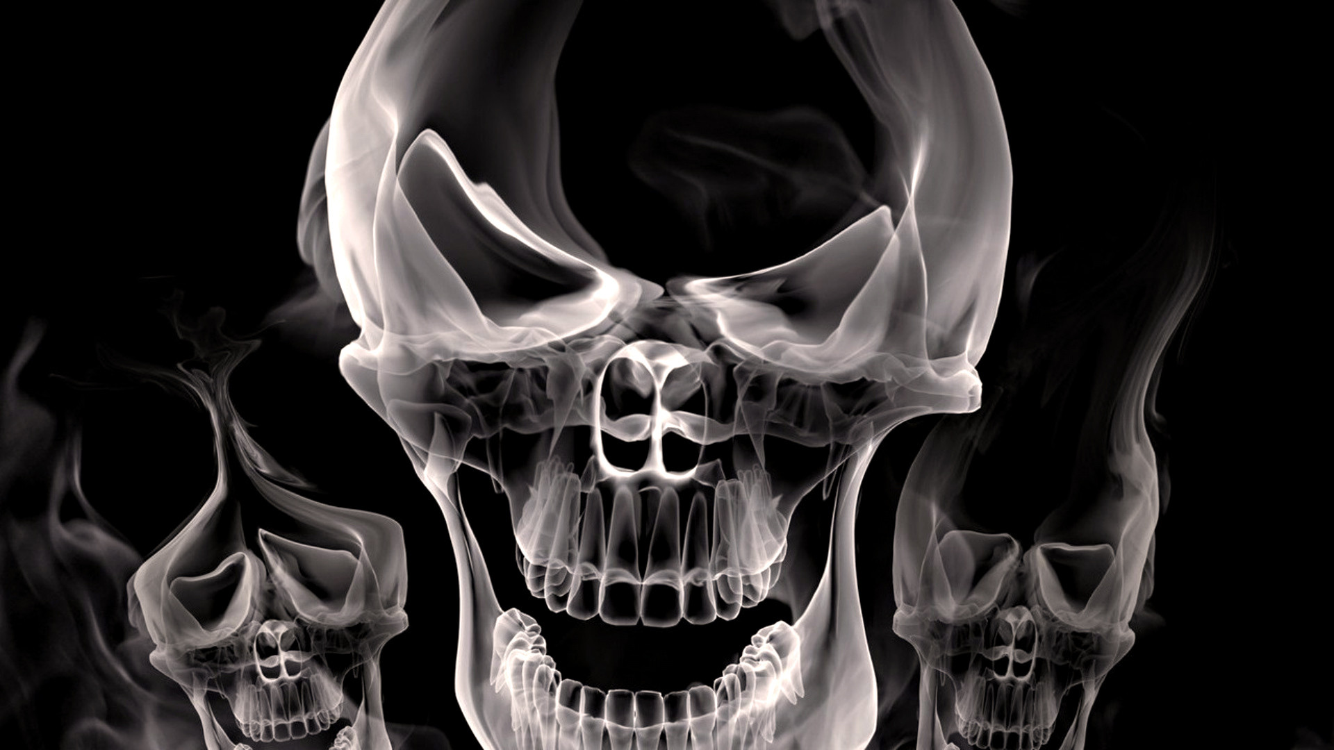Res: 1920x1080, ... Cool 3D Hd Skull Wallpaper Other Wallpaper 3D Skull High Quality Resolution Wallpaper Hd ...