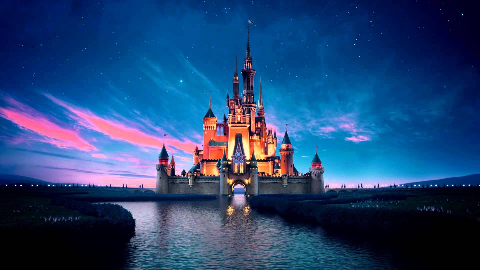 Res: 1920x1080,  Wallpapers For > Disney Castle Background Tumblr