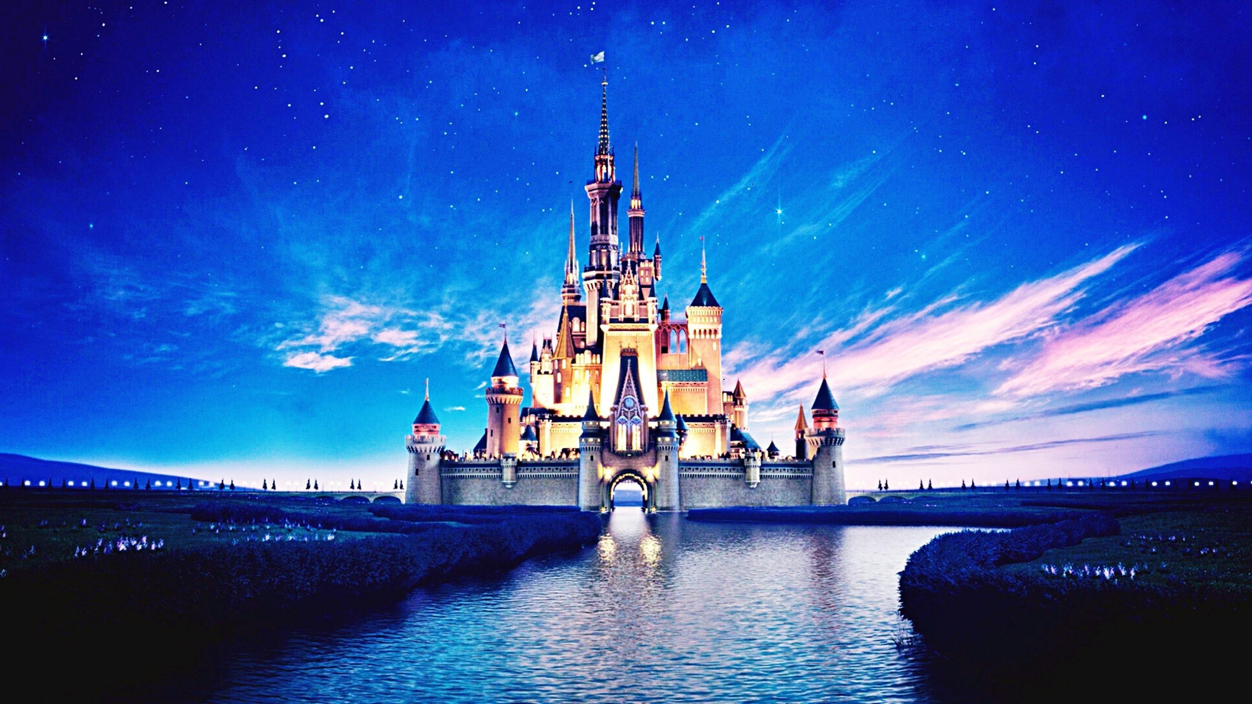 Res: 2560x1440, Awesome Disney Castle Wallpaper High Quality Backgrounds Hd Images Art For  Laptop