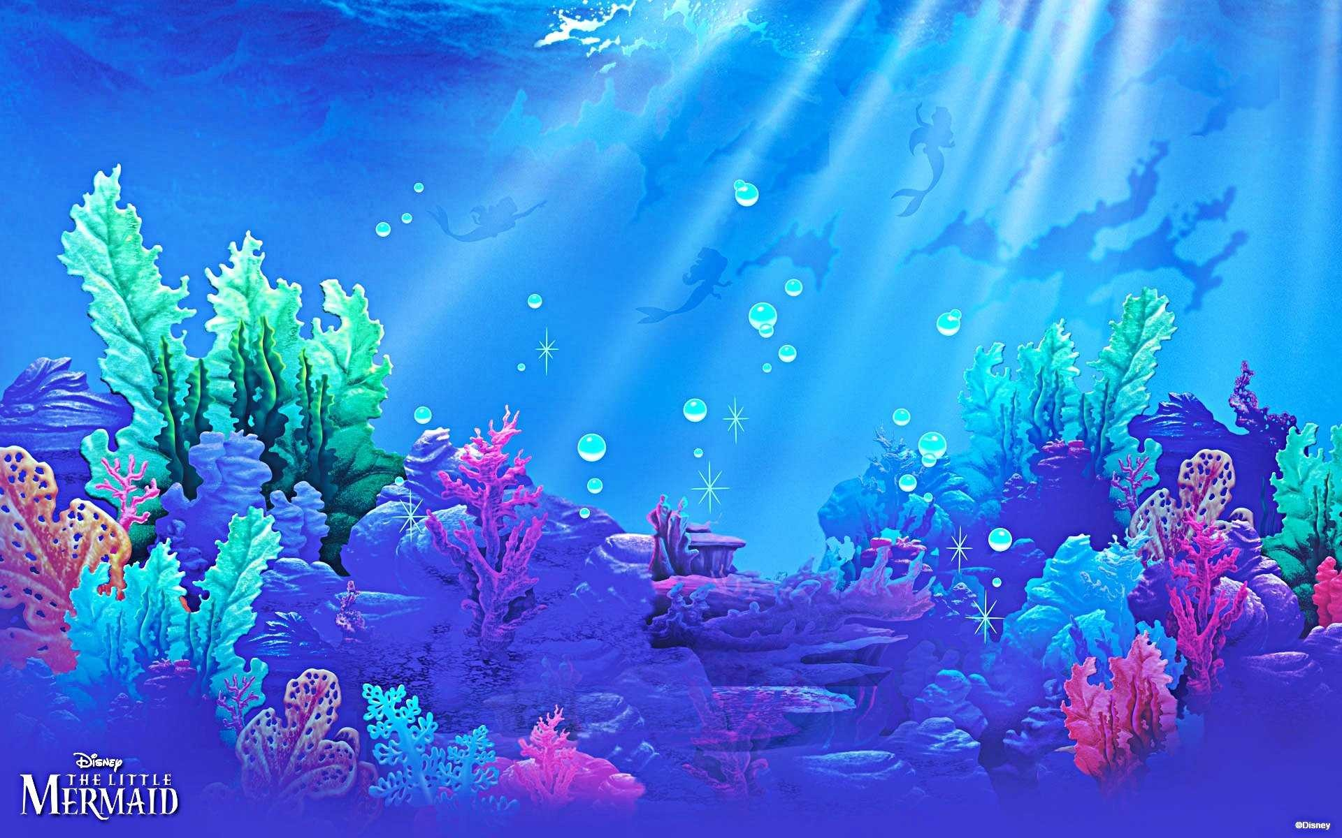 Res: 1920x1200, Widescreen Of Little Mermaid Background Hd Pics Desktop Disney Characters  Title Wallpaper Images Clubs Image
