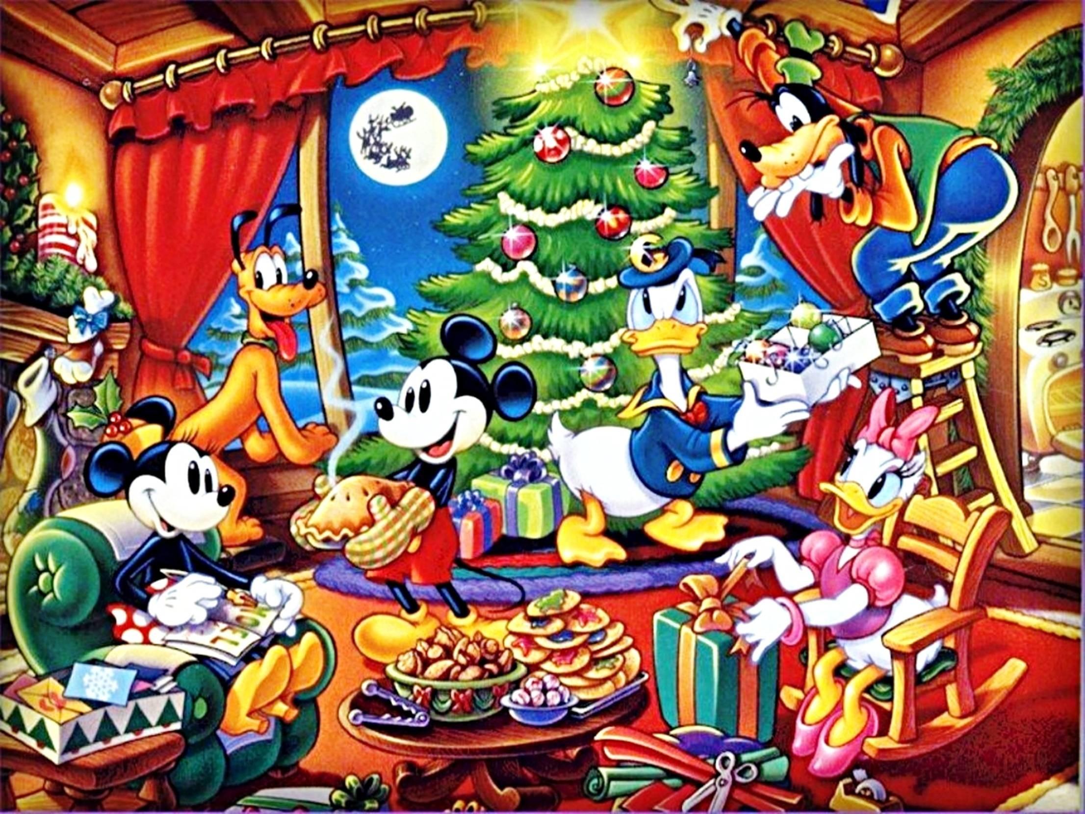 Res: 2212x1659, Disney Christmas HD Background wallpaper | wollpopor.