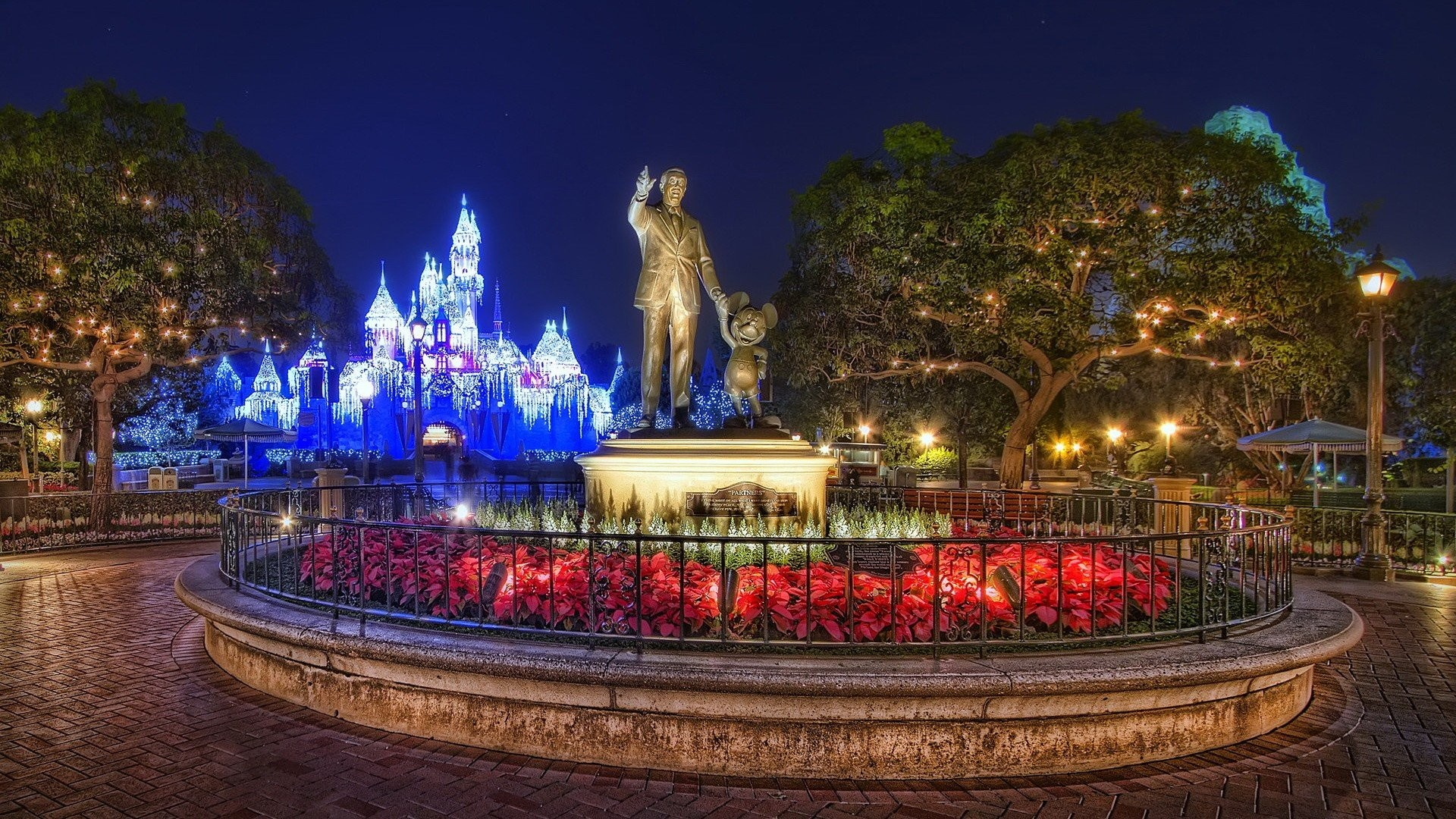 Res: 1920x1080, Simple Walt Disney World Wallpaper Trees Green Creative Classic Collection  Unbelievable Flower