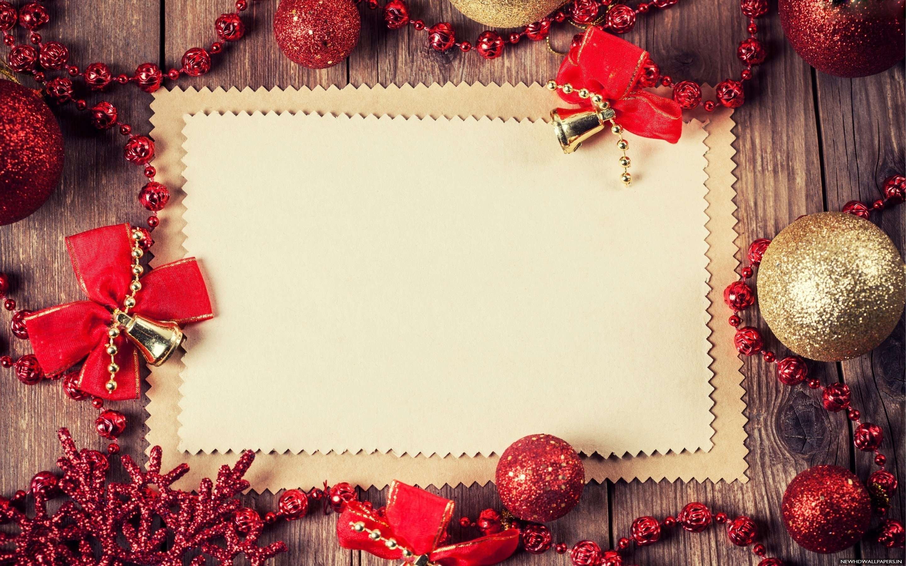 Res: 2880x1800, Merry Christmas Blank Paper Wallpaper