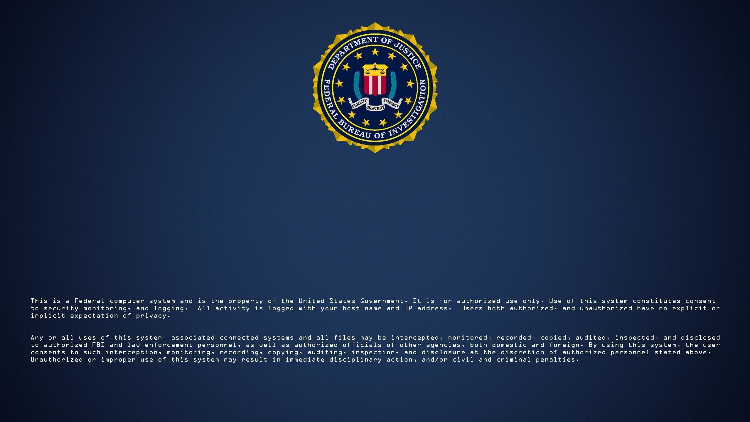 Res: 2560x1440, FBI Wallpapers - Wallpaper Cave