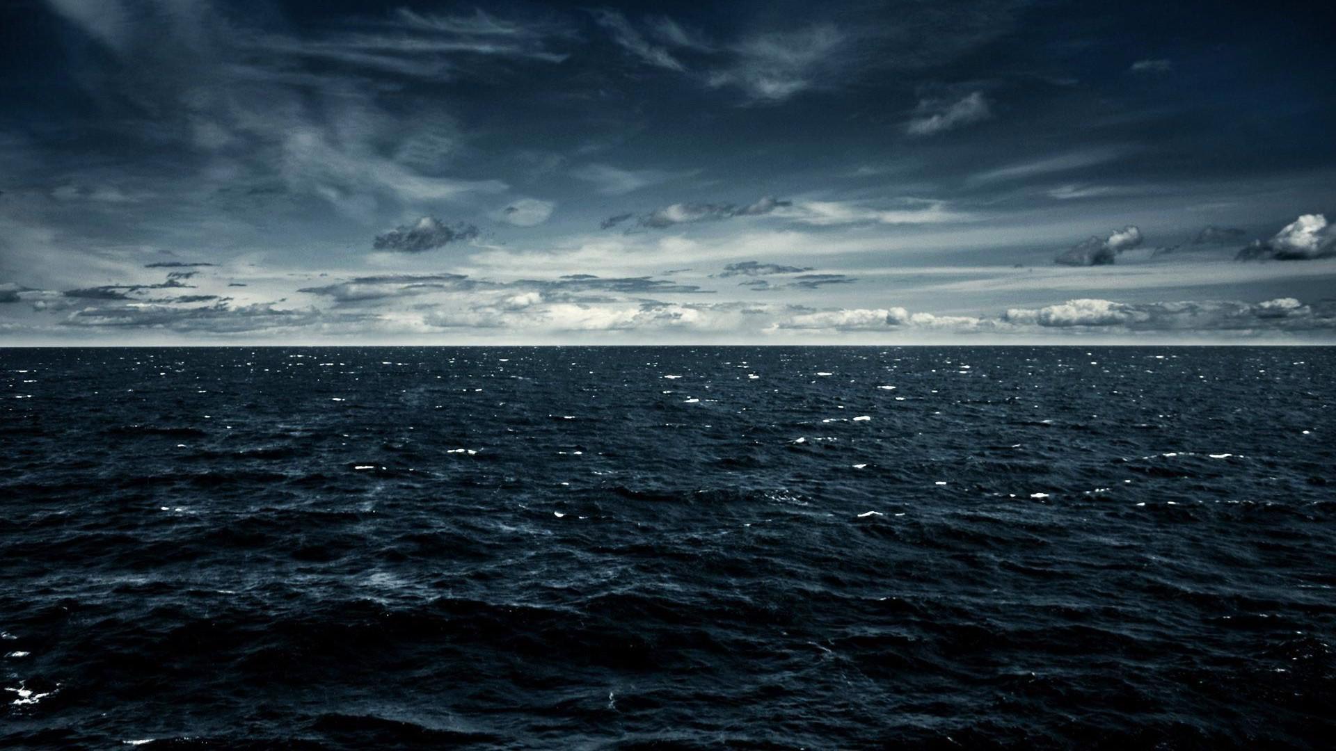 Res: 1920x1080, Обои Океан k HD облака сток Surface Hub Ocean k HD